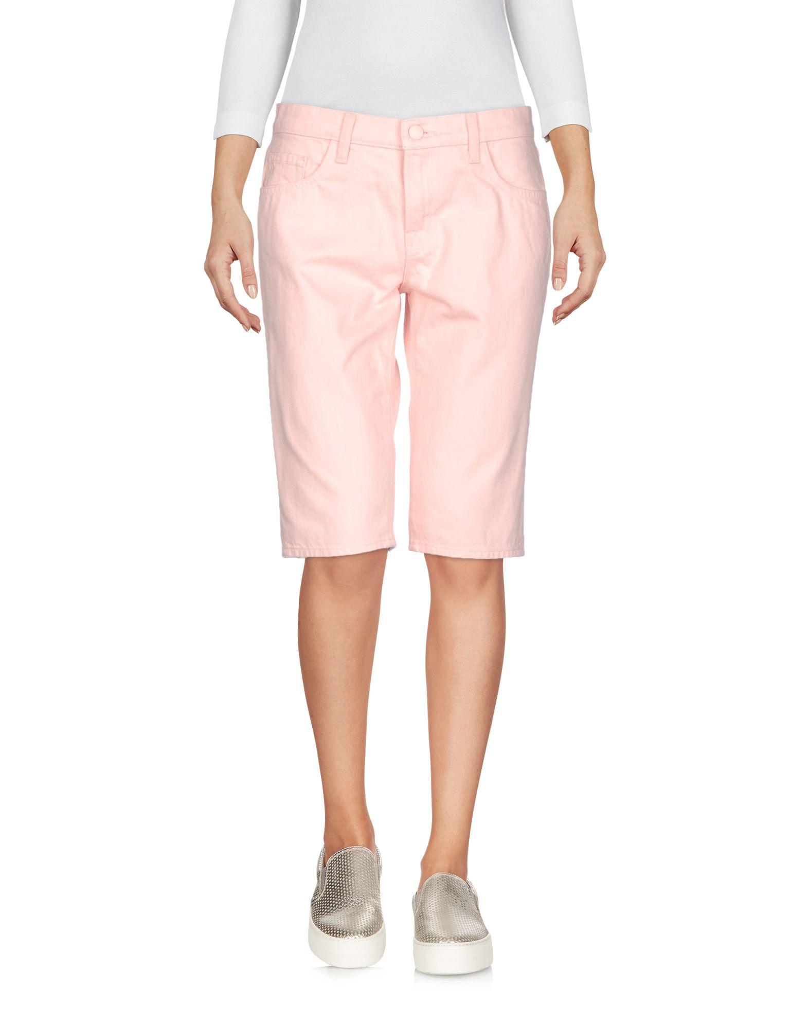 SIMONE ROCHA X J BRAND Denim Shorts in Pink