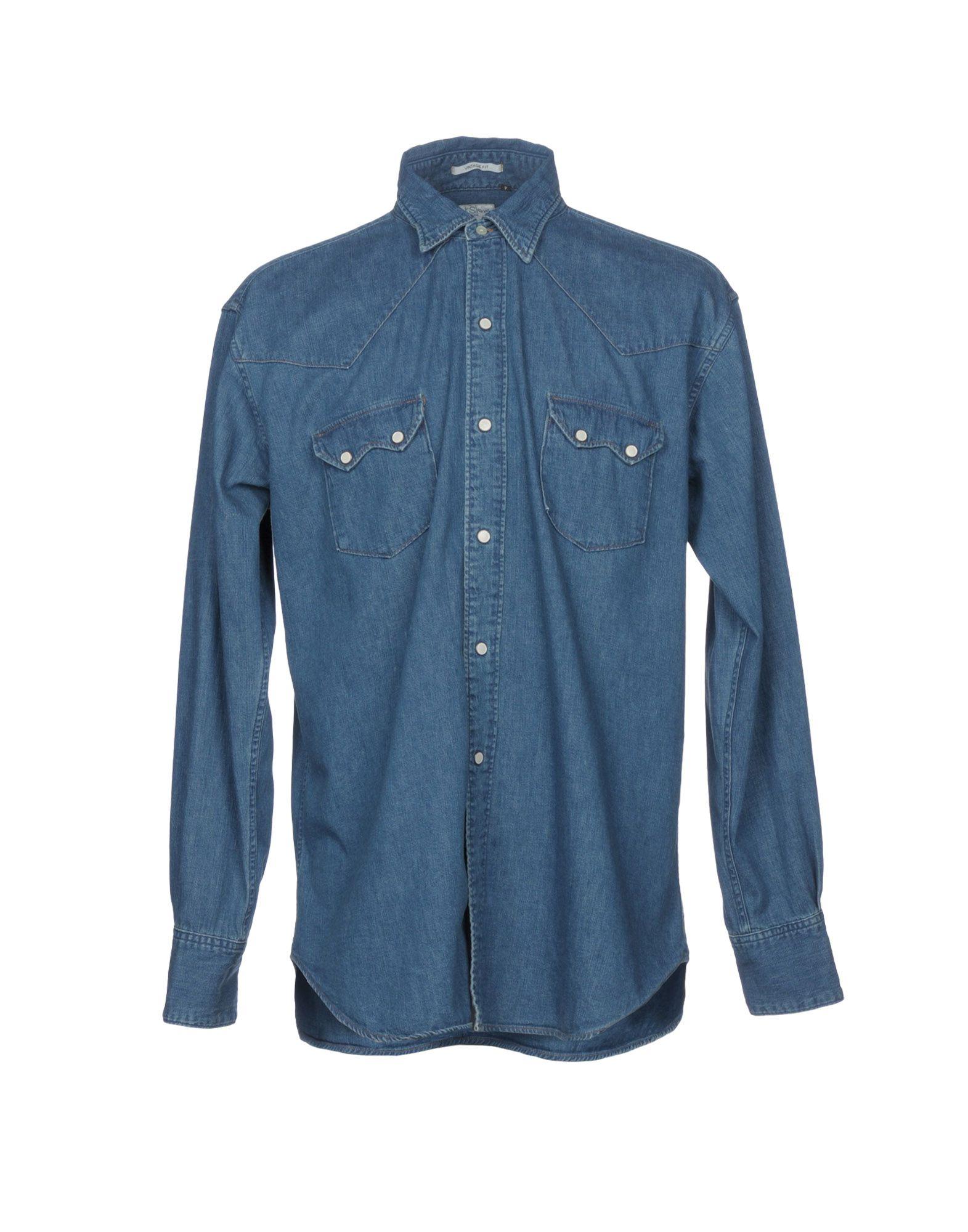 ORSLOW Denim Shirt in Blue