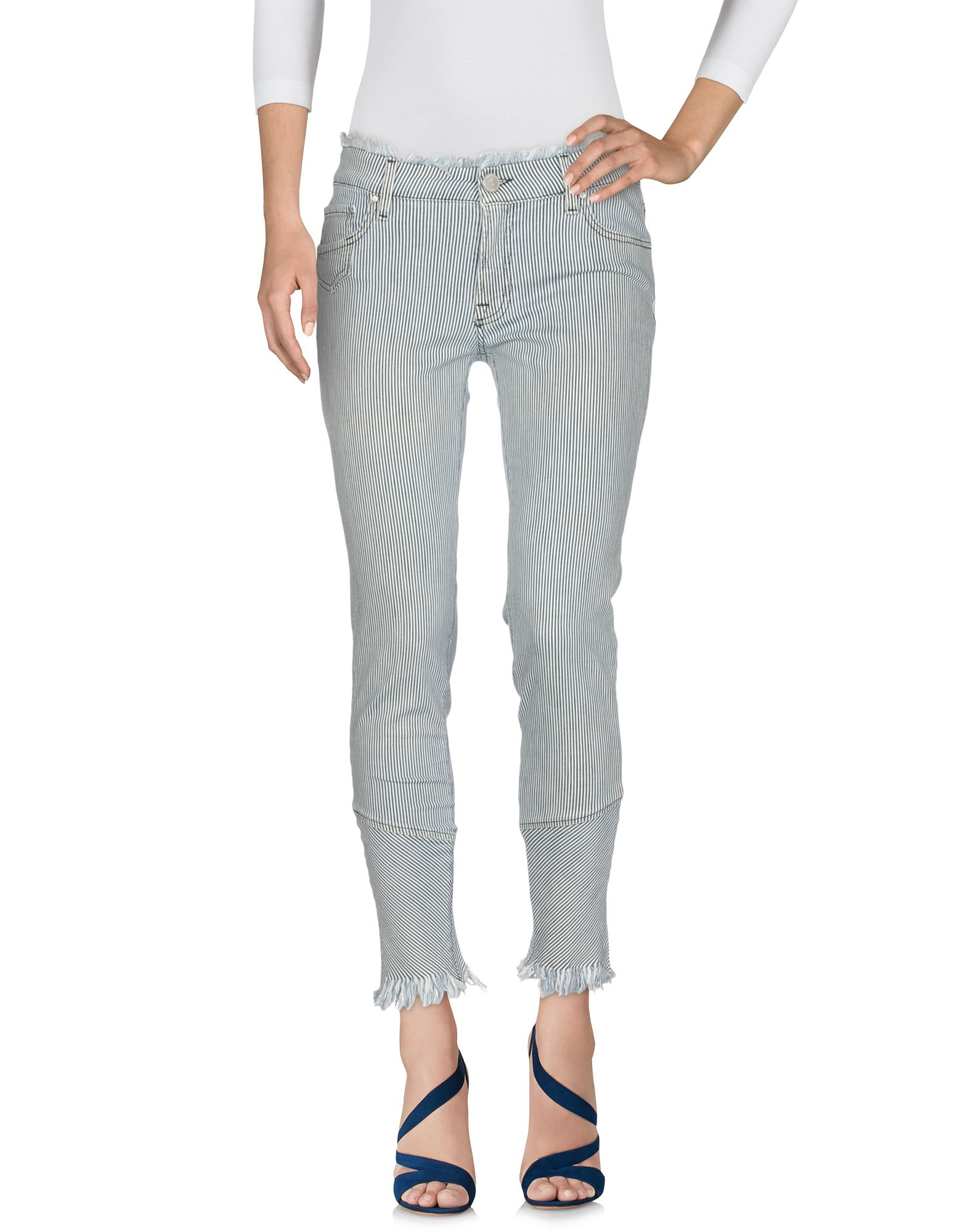 DON'T CRY Denim Pants in Blue