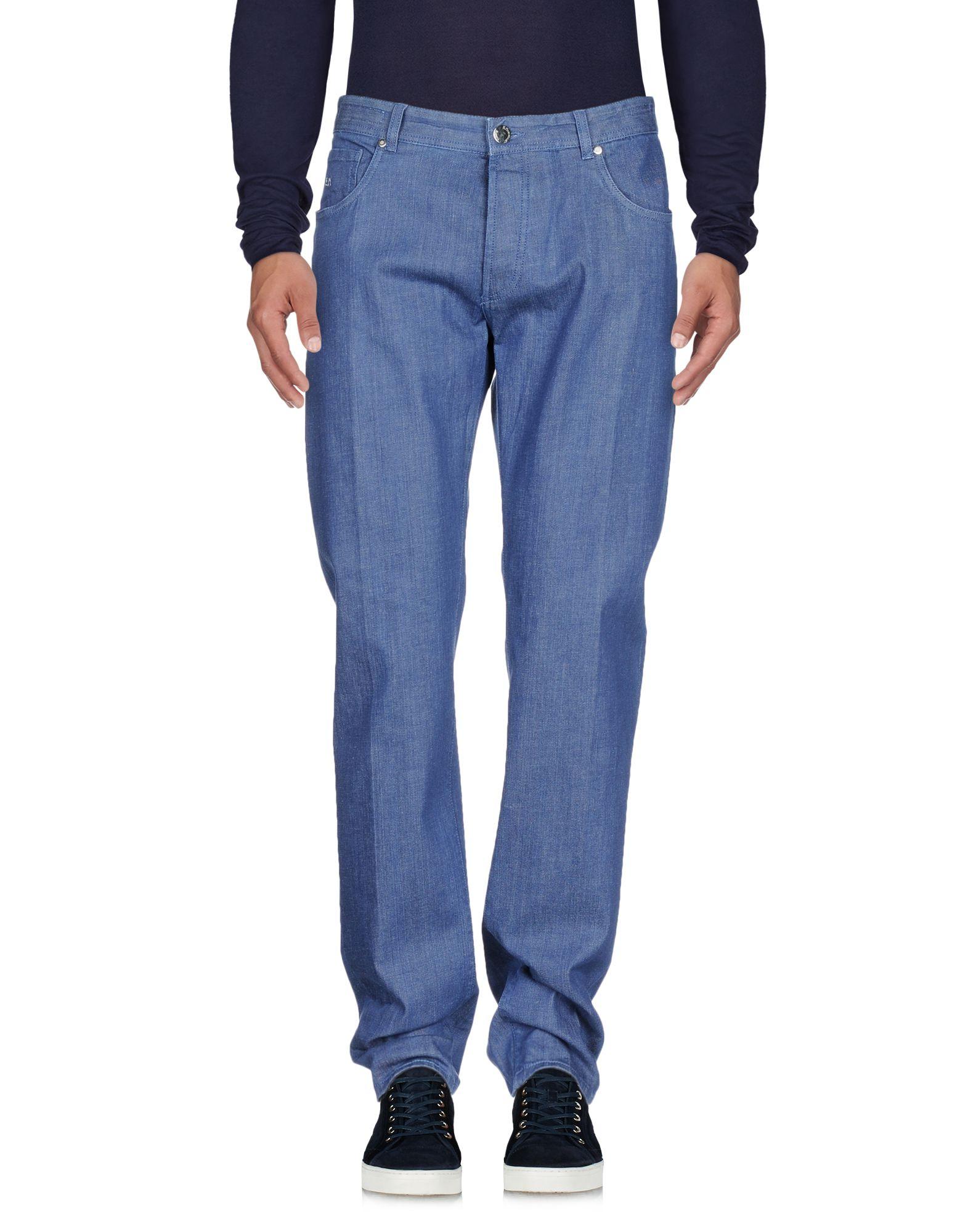 《セール開催中》E.MARINELLA メンズ ジーンズ ブルー 39 コットン 98% / ポリウレタン 2%