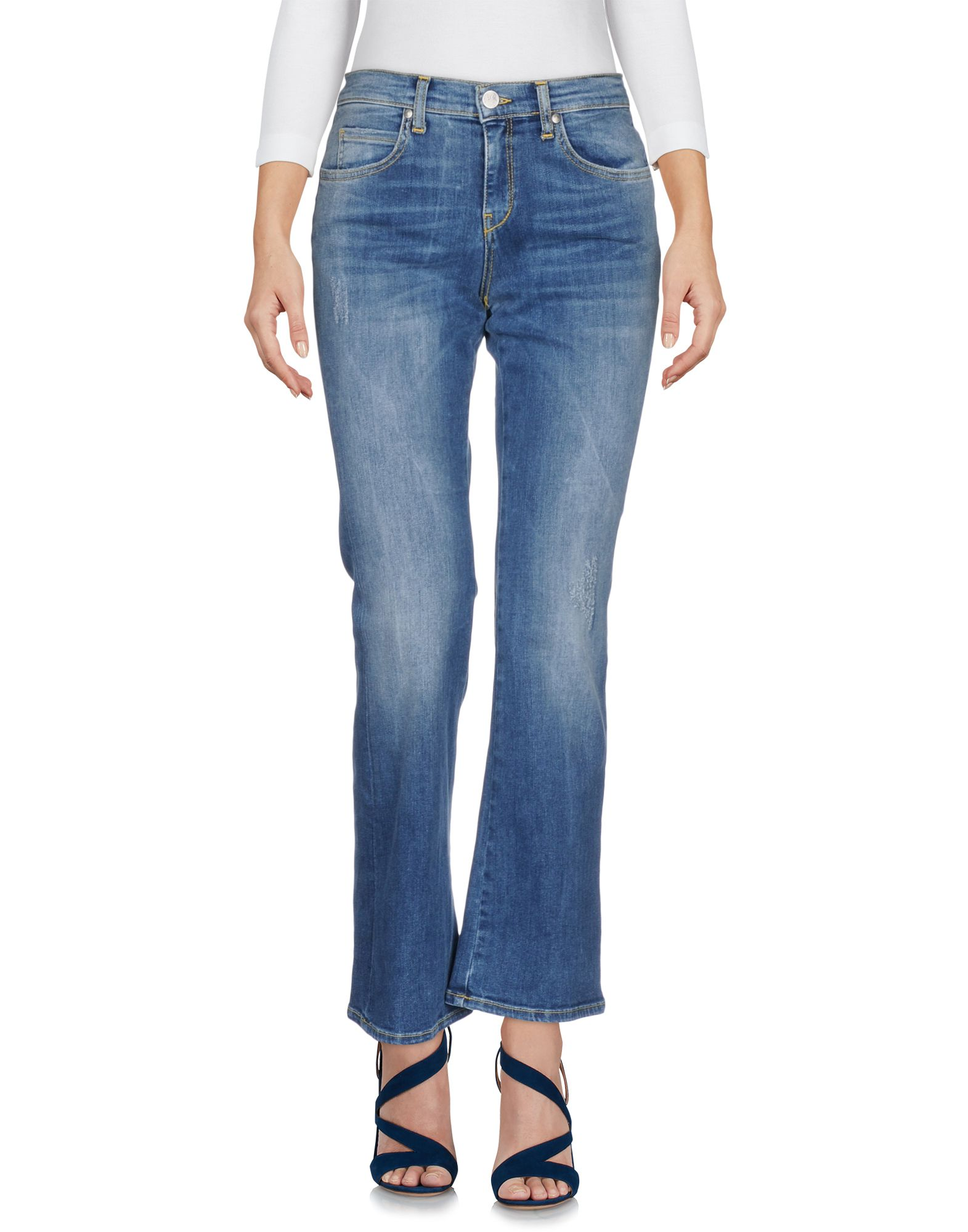 TWENTY EASY by KAOS Джинсовые брюки twenty easy by kaos джинсовые брюки капри