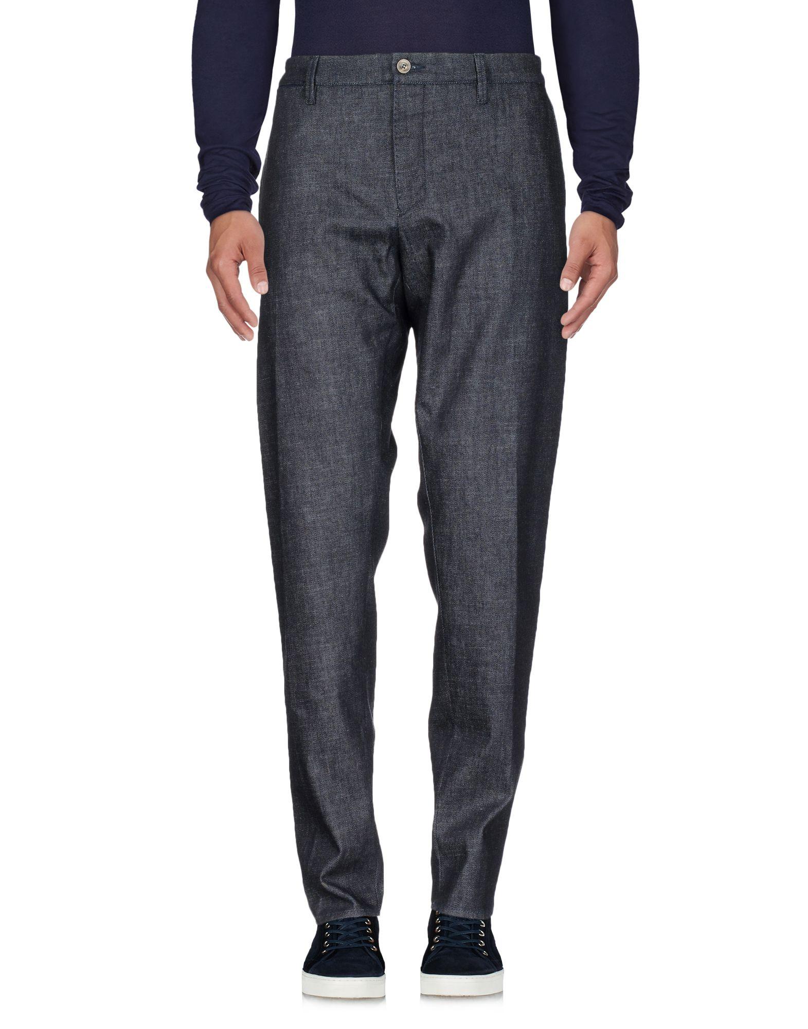 BIANCHETTI Джинсовые брюки недорго, оригинальная цена