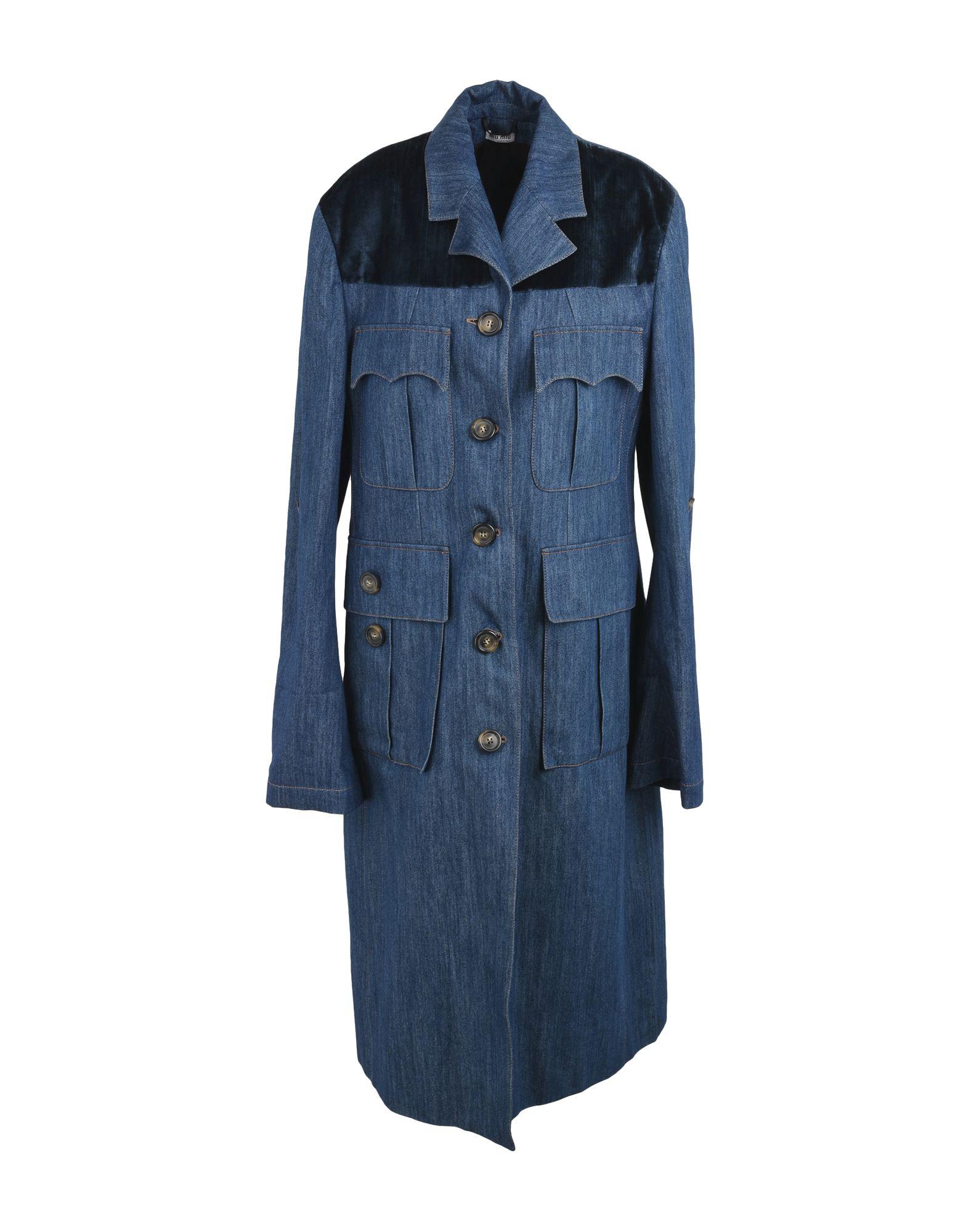 MIU MIU Джинсовая верхняя одежда цена и фото