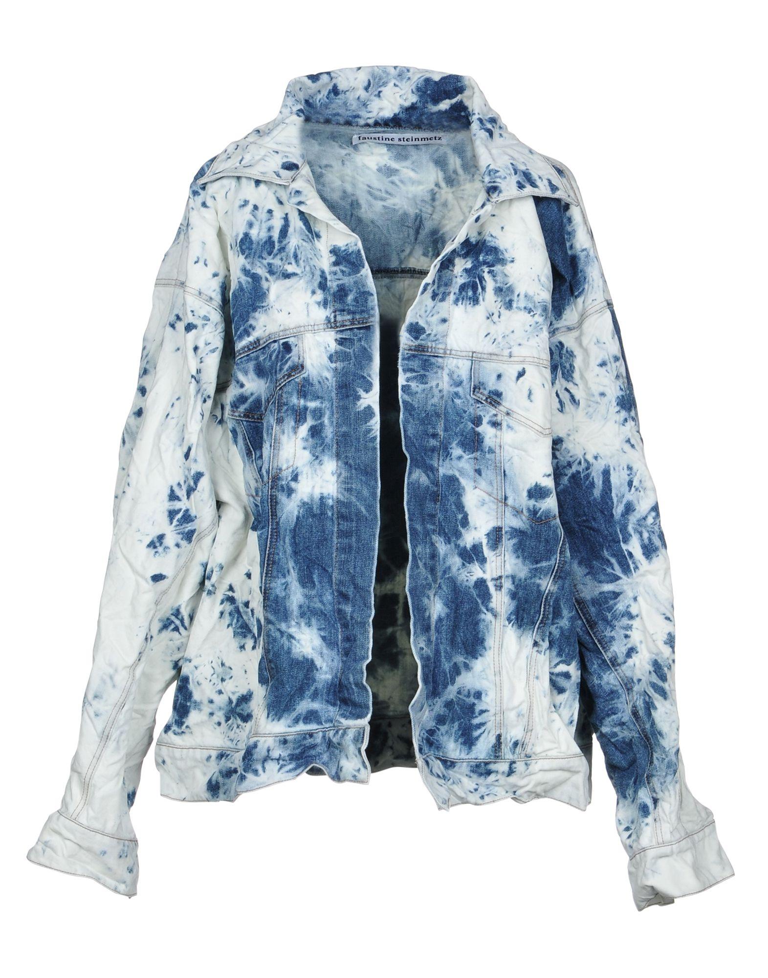 FAUSTINE STEINMETZ Джинсовая верхняя одежда брендовая одежда