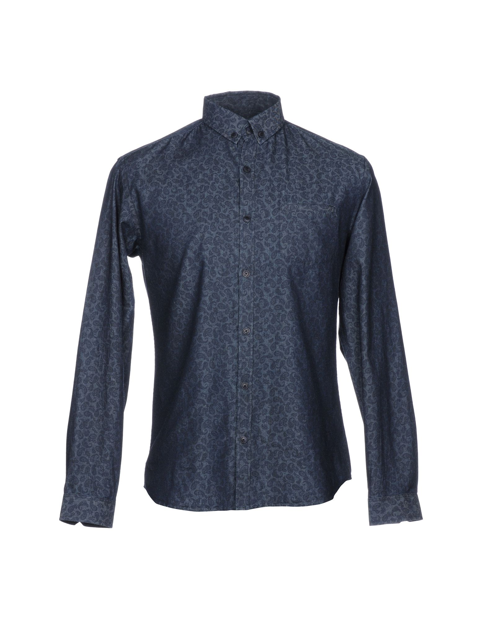 BILLTORNADE Джинсовая рубашка billtornade водолазки