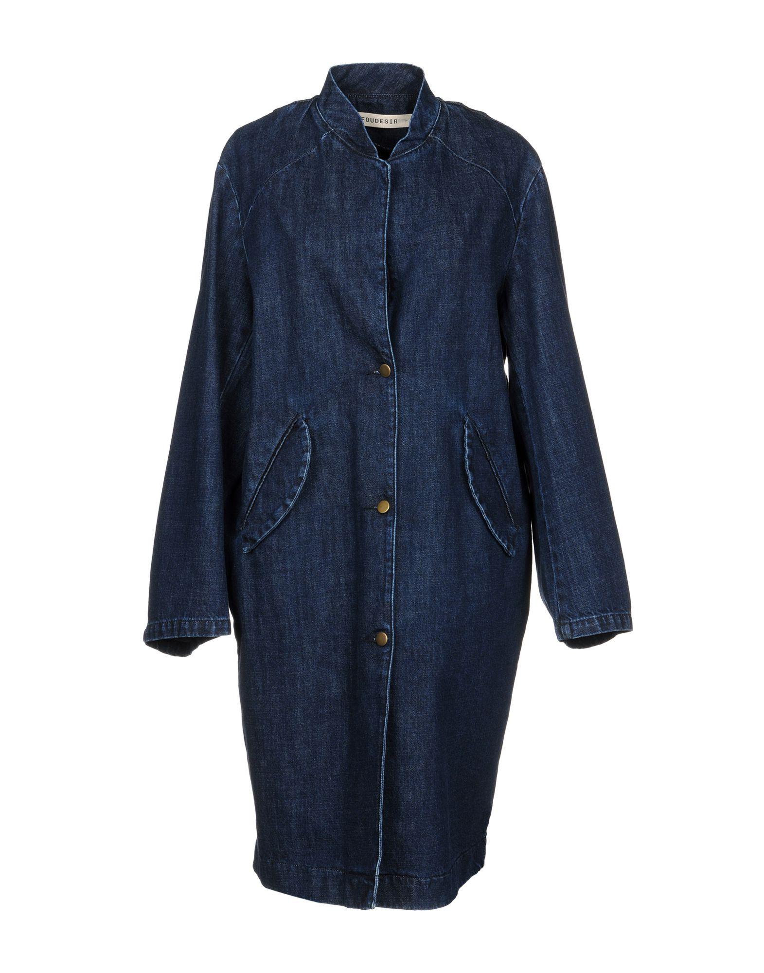 FOUDESIR Джинсовая верхняя одежда folk джинсовая верхняя одежда