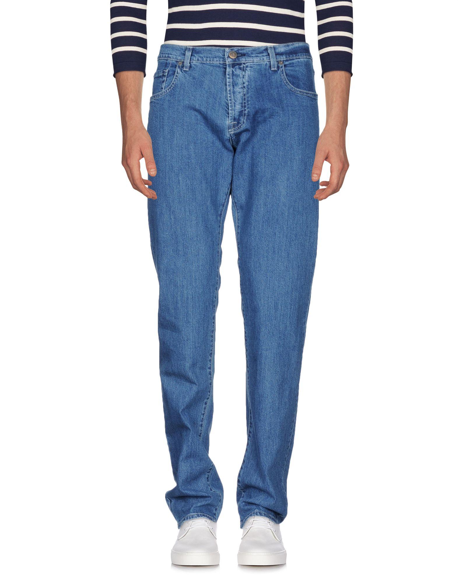 BREUER Denim Pants in Blue