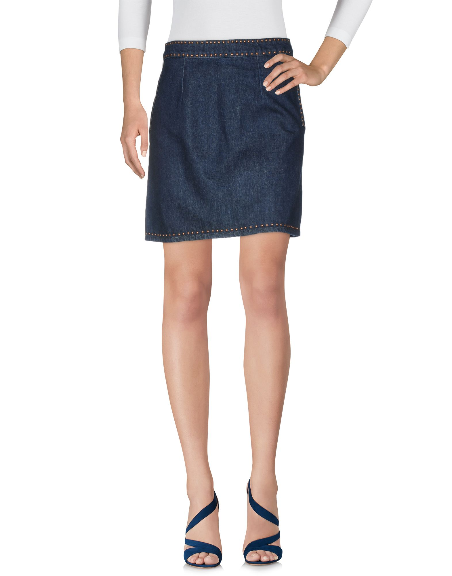 SANDRO Джинсовая юбка sandro джинсовая юбка с декоративной шнуровкой page 3