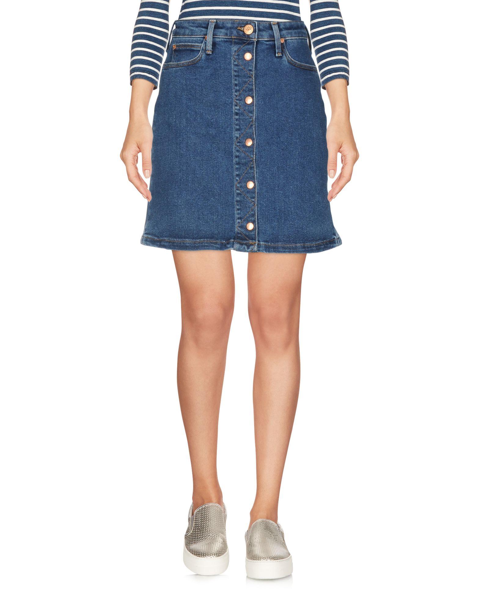 где купить LEE Джинсовая юбка по лучшей цене