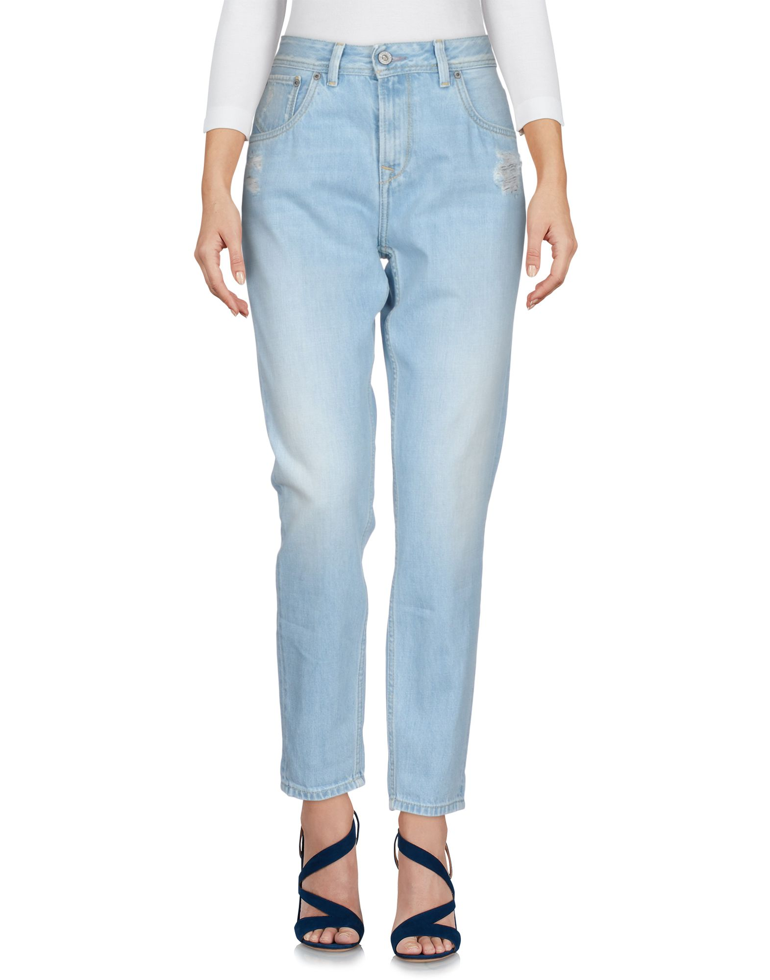 PEPE JEANS Джинсовые брюки summer boyfriend jeans for women hole ripped white lace flowers denim pants low waist mujer vintage skinny stretch jeans female