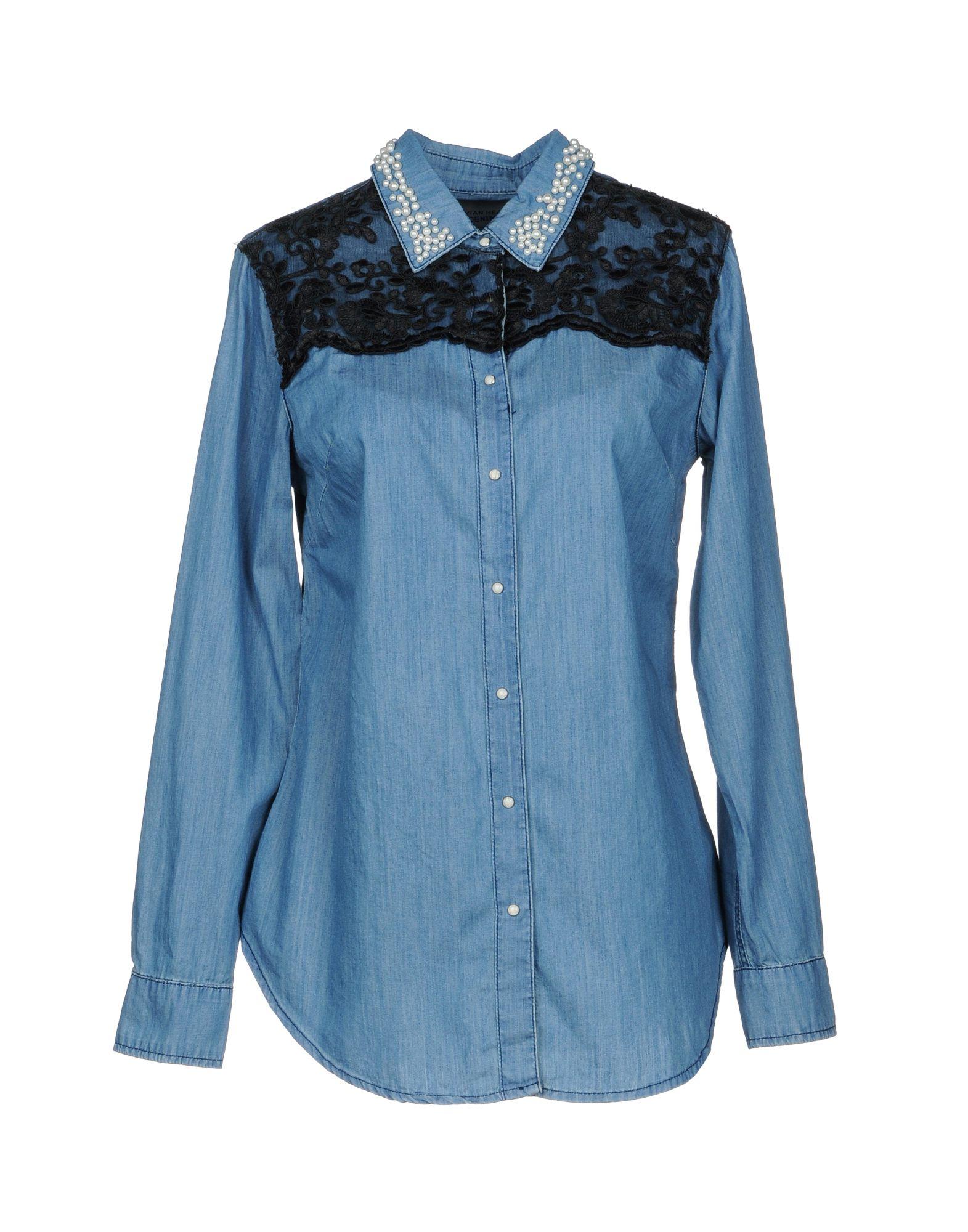 SILVIAN HEACH Джинсовая рубашка рубашка silvian heach cvp18536ca fant uniq