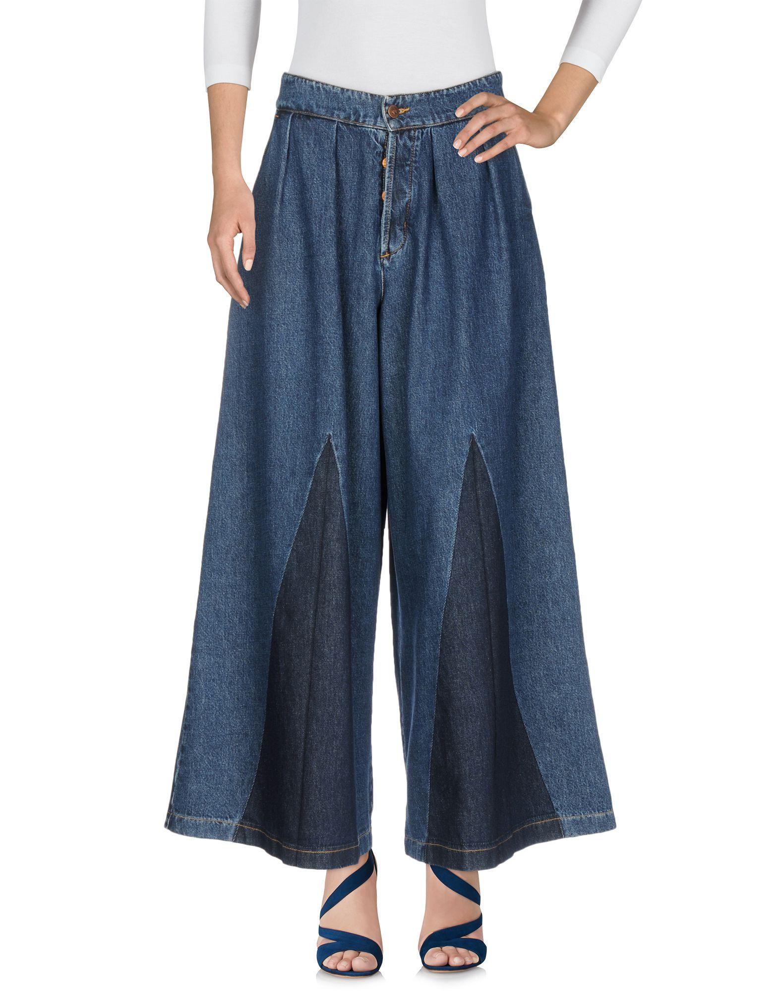 FOUDESIR Джинсовые брюки foudesir футболка