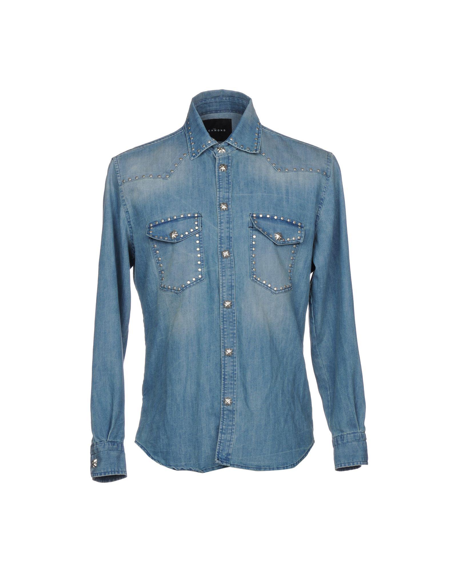 JOHN RICHMOND Джинсовая рубашка