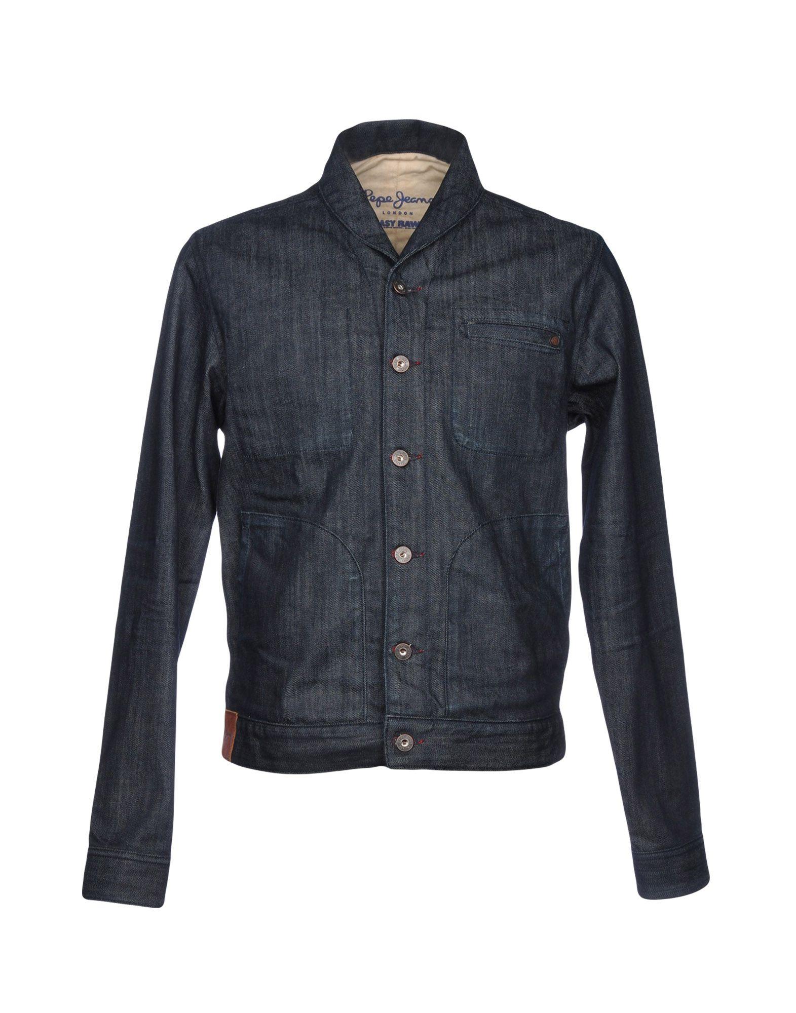 PEPE JEANS Джинсовая верхняя одежда folk джинсовая верхняя одежда