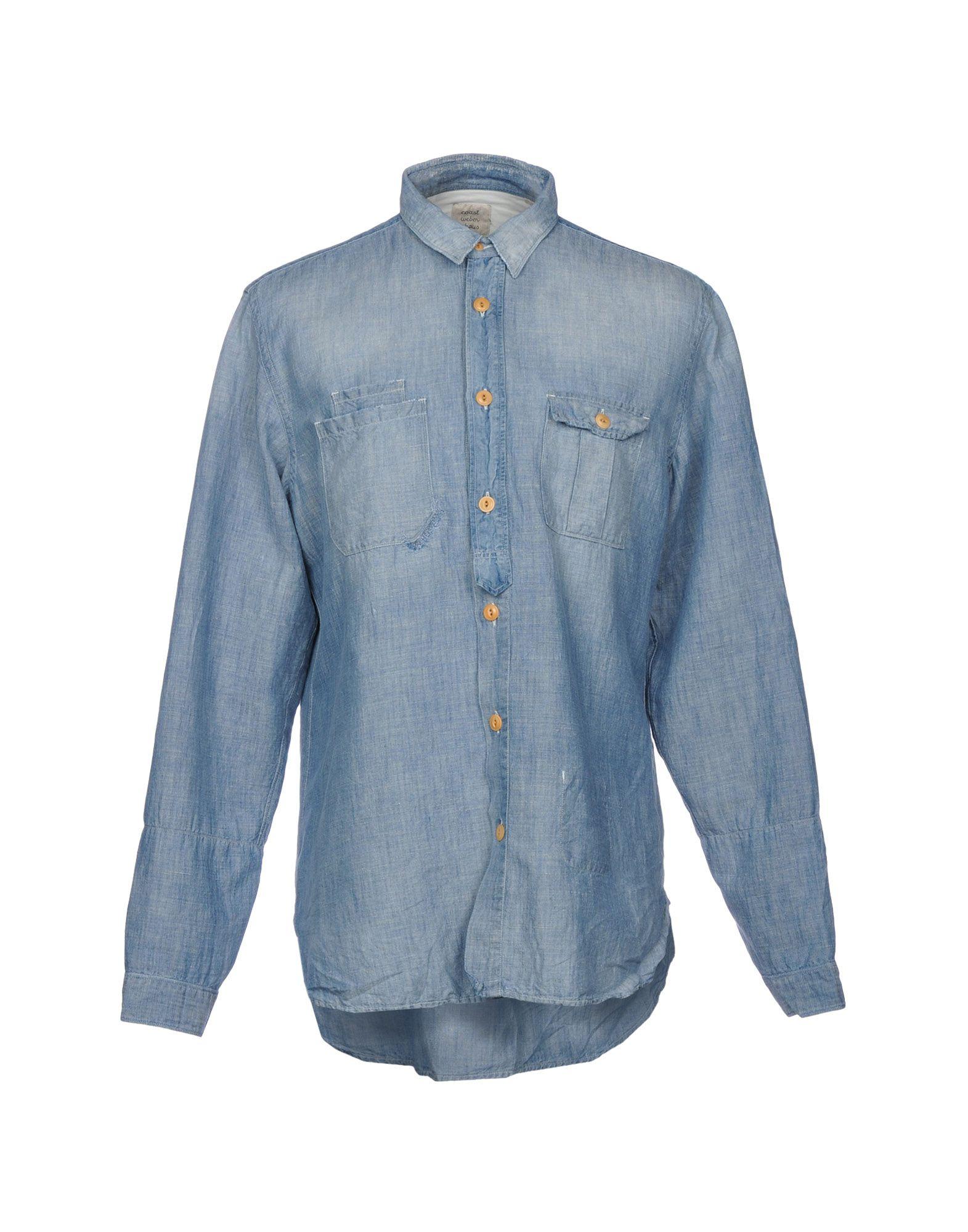 COAST WEBER & AHAUS Джинсовая рубашка рубашка gerry weber gerry weber ge002ewwra96