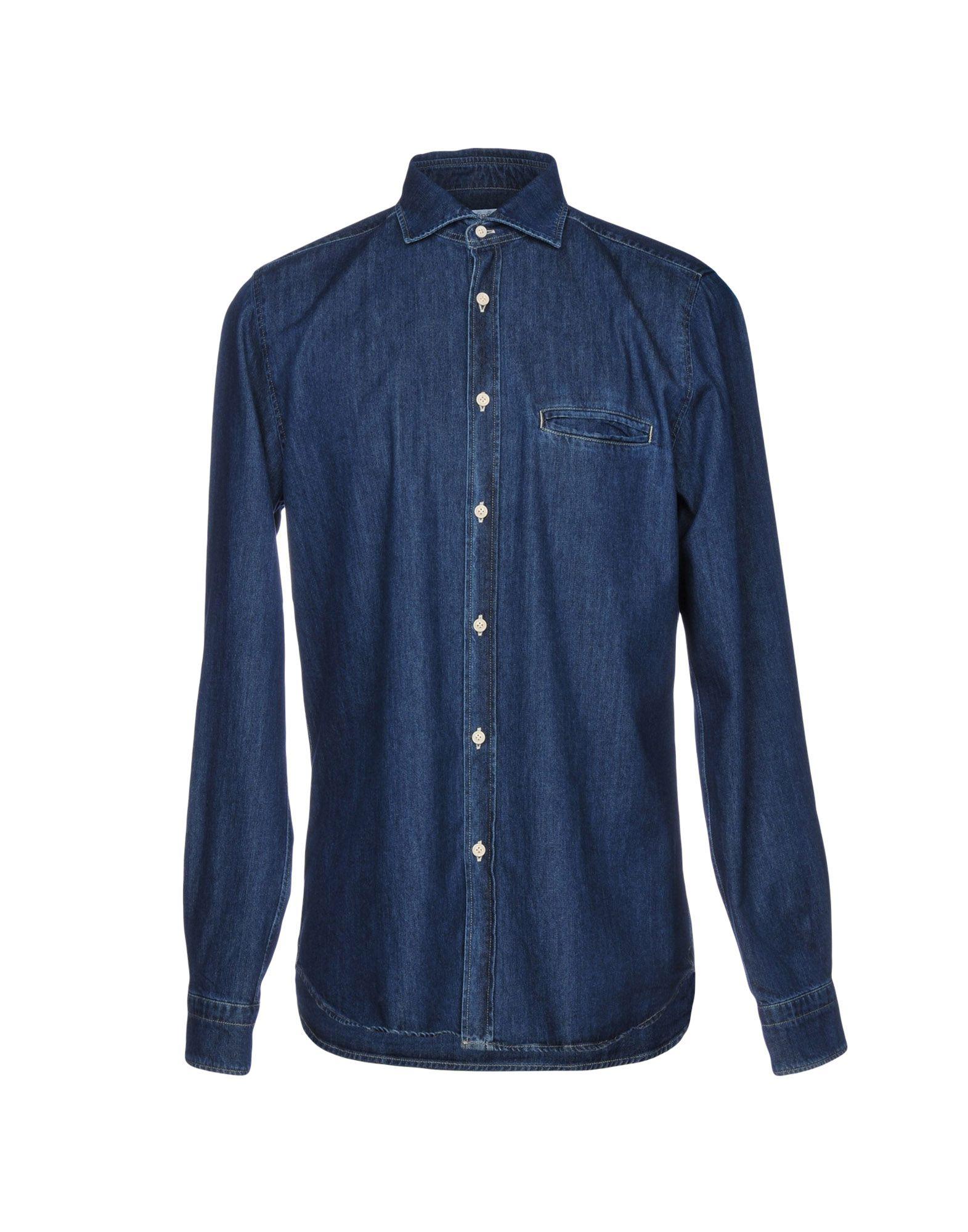 BORSA Denim Shirt in Blue