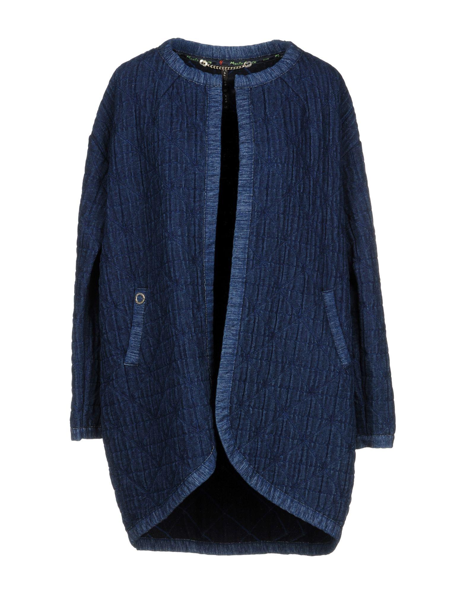 MANILA GRACE Джинсовая верхняя одежда folk джинсовая верхняя одежда