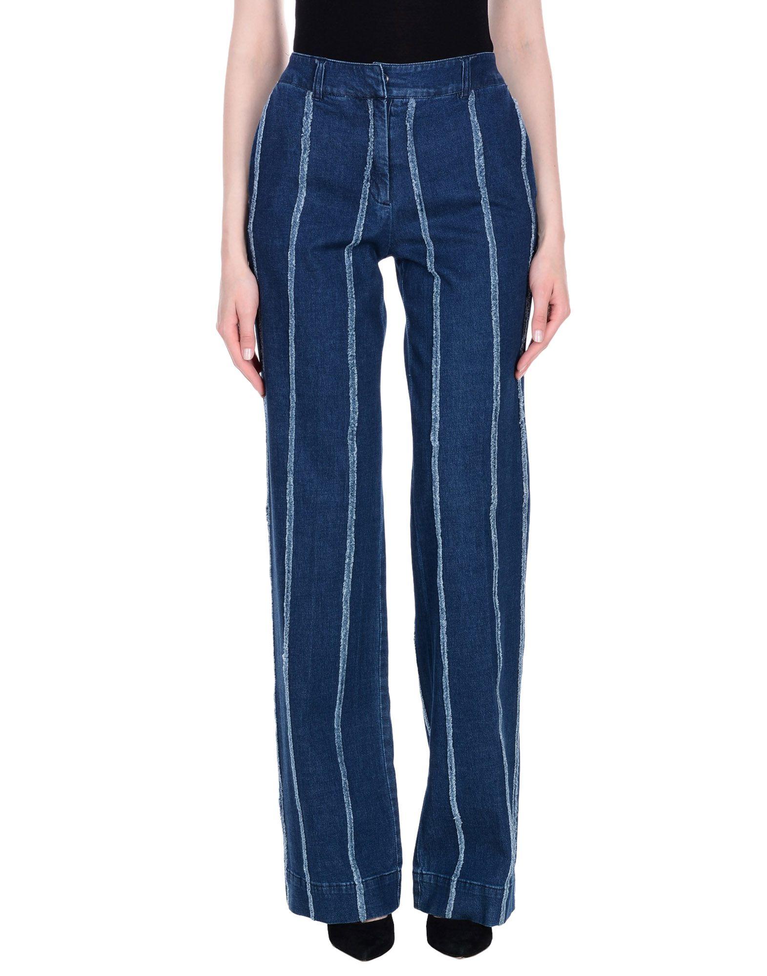 BLU BYBLOS Джинсовые брюки брюки byblos byblos by548ewizu18