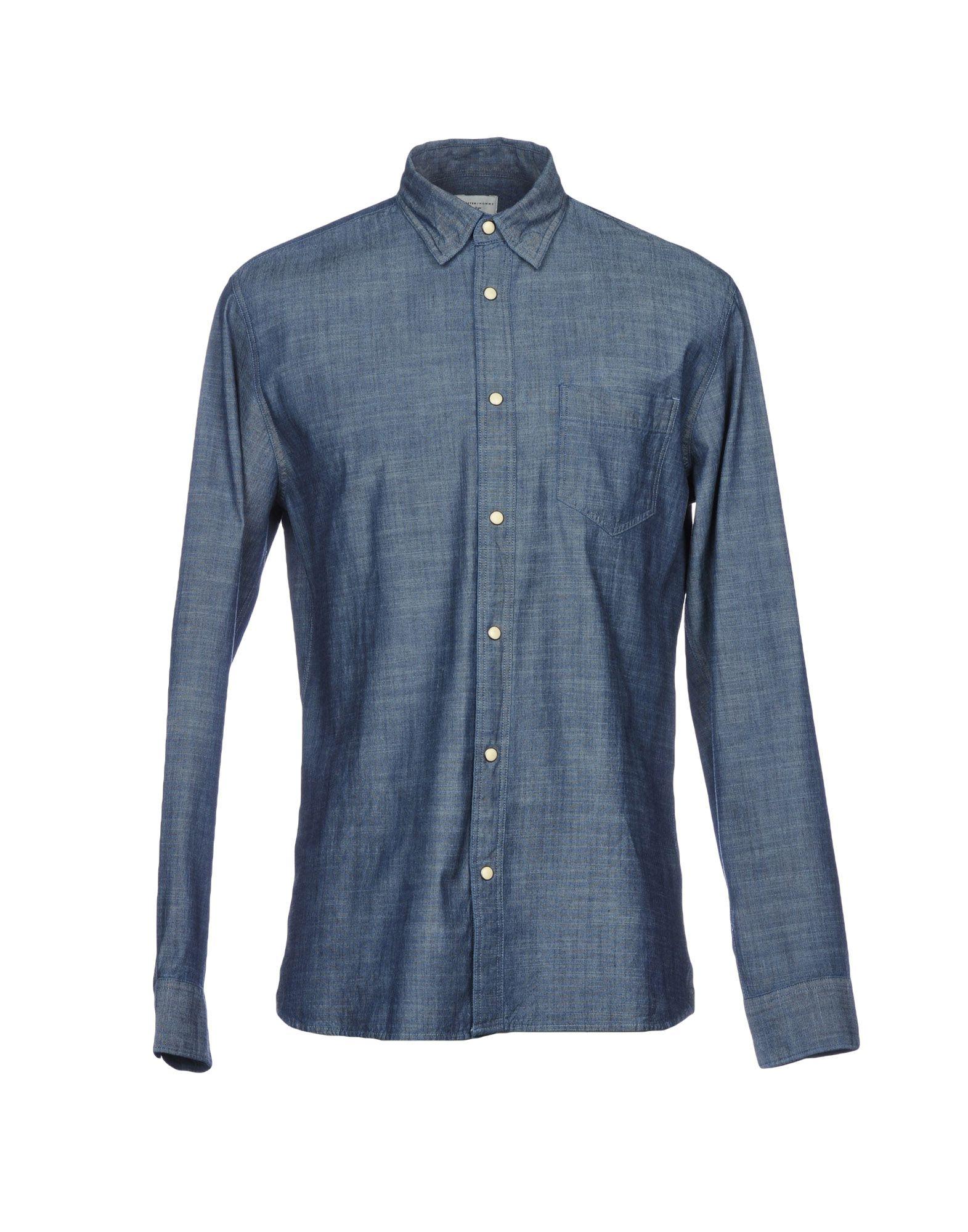 SELECTED HOMME Джинсовая рубашка рубашка selected homme selected homme se392empam57