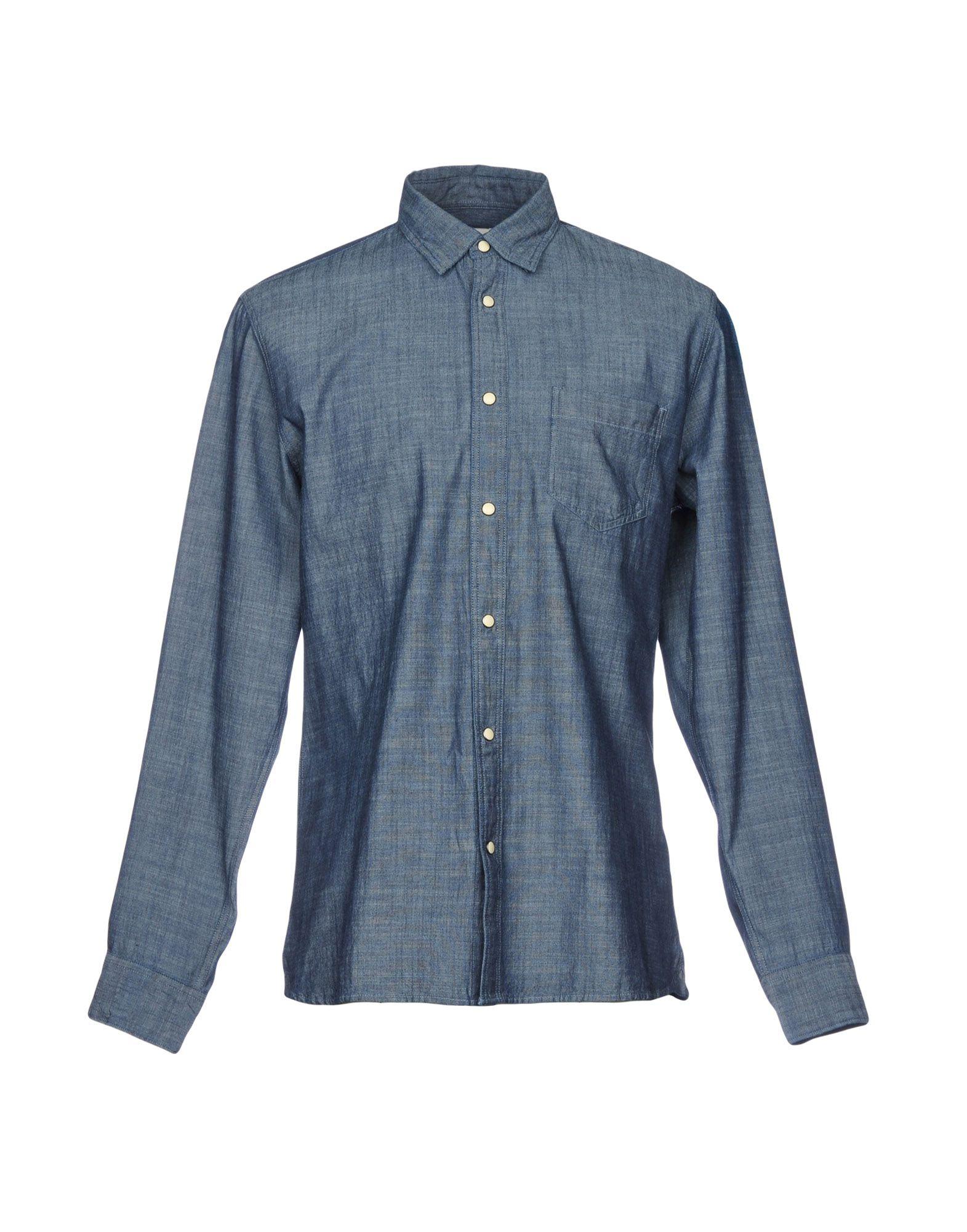 SELECTED HOMME Джинсовая рубашка рубашка selected цвет белый