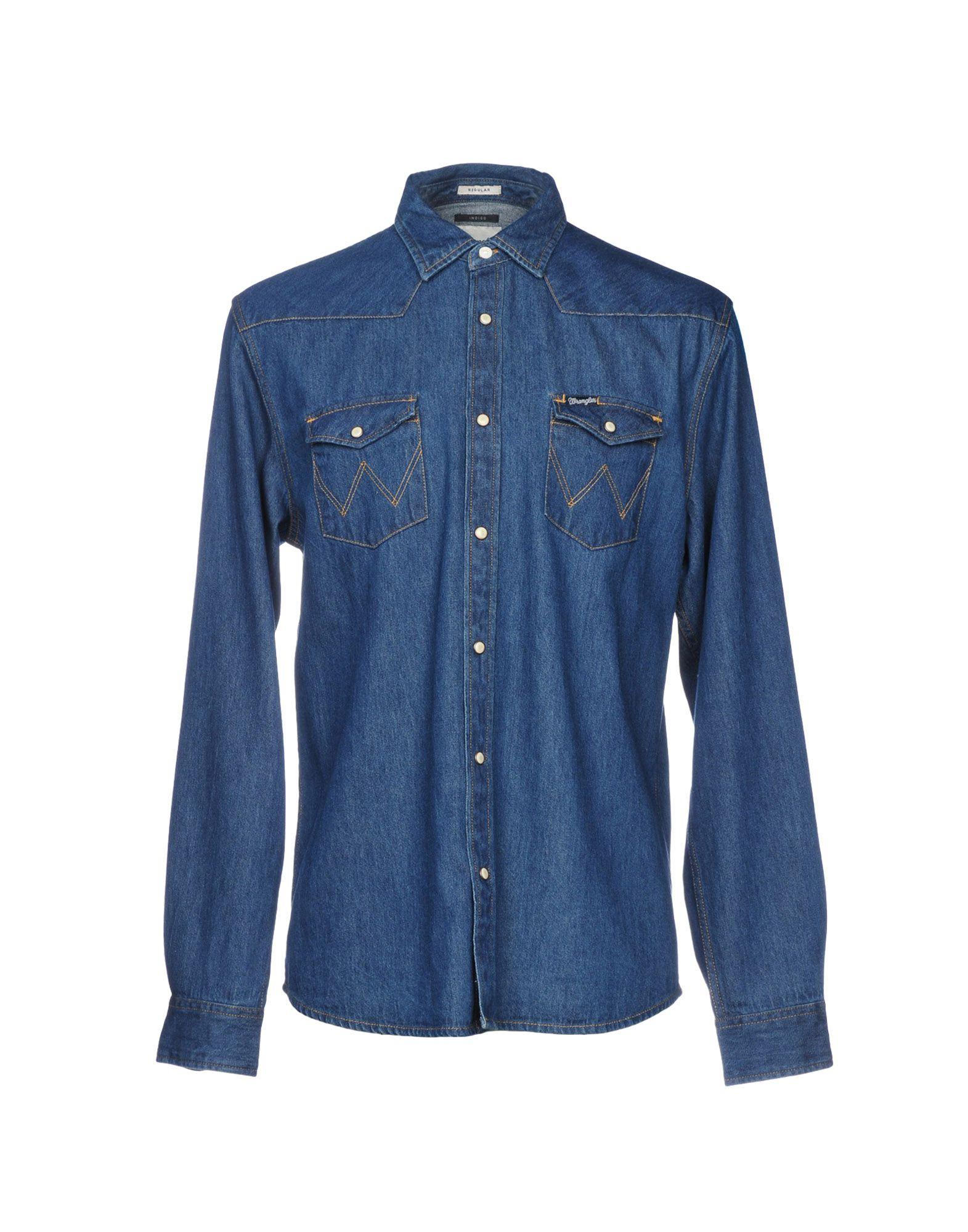 WRANGLER Джинсовая рубашка