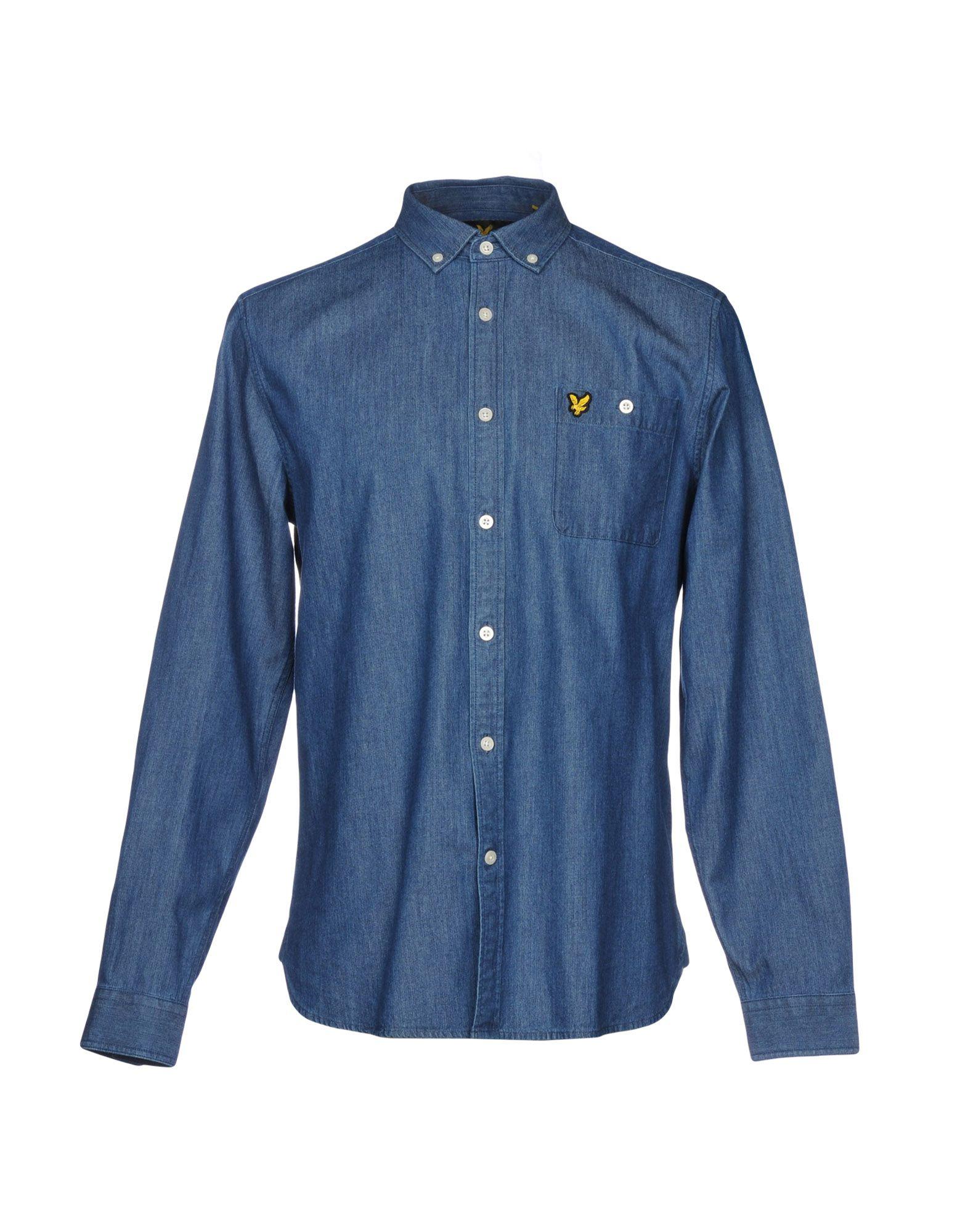LYLE & SCOTT Джинсовая рубашка