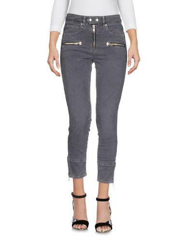 Купить Джинсовые брюки от ISABEL MARANT ÉTOILE свинцово-серого цвета