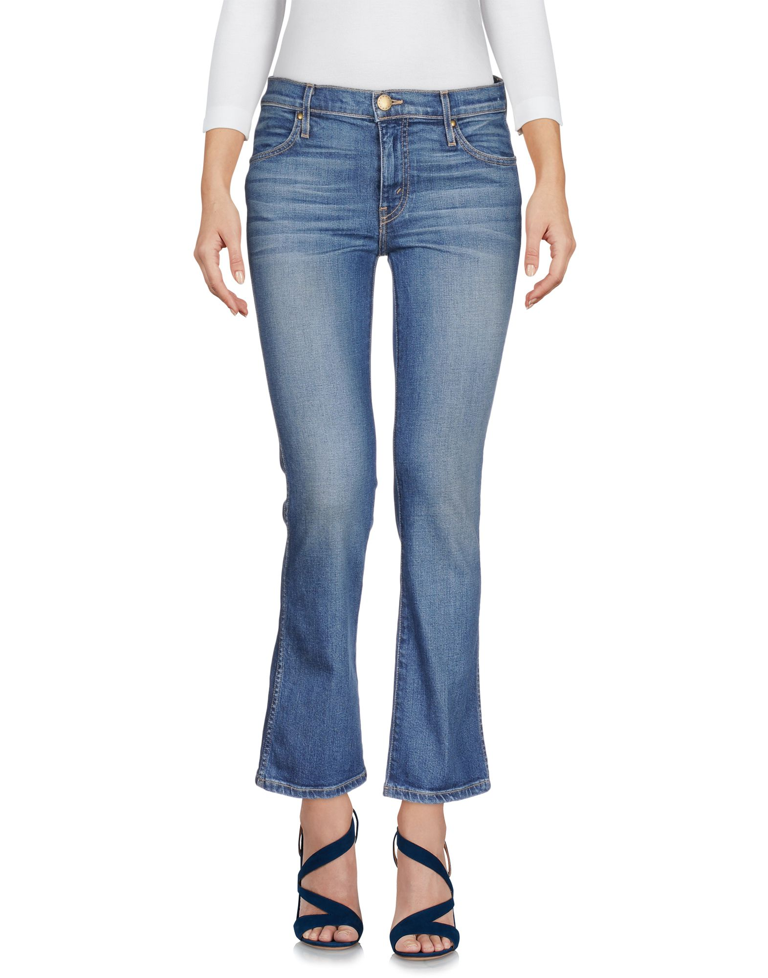 THE GREAT. Джинсовые брюки the great повседневные брюки