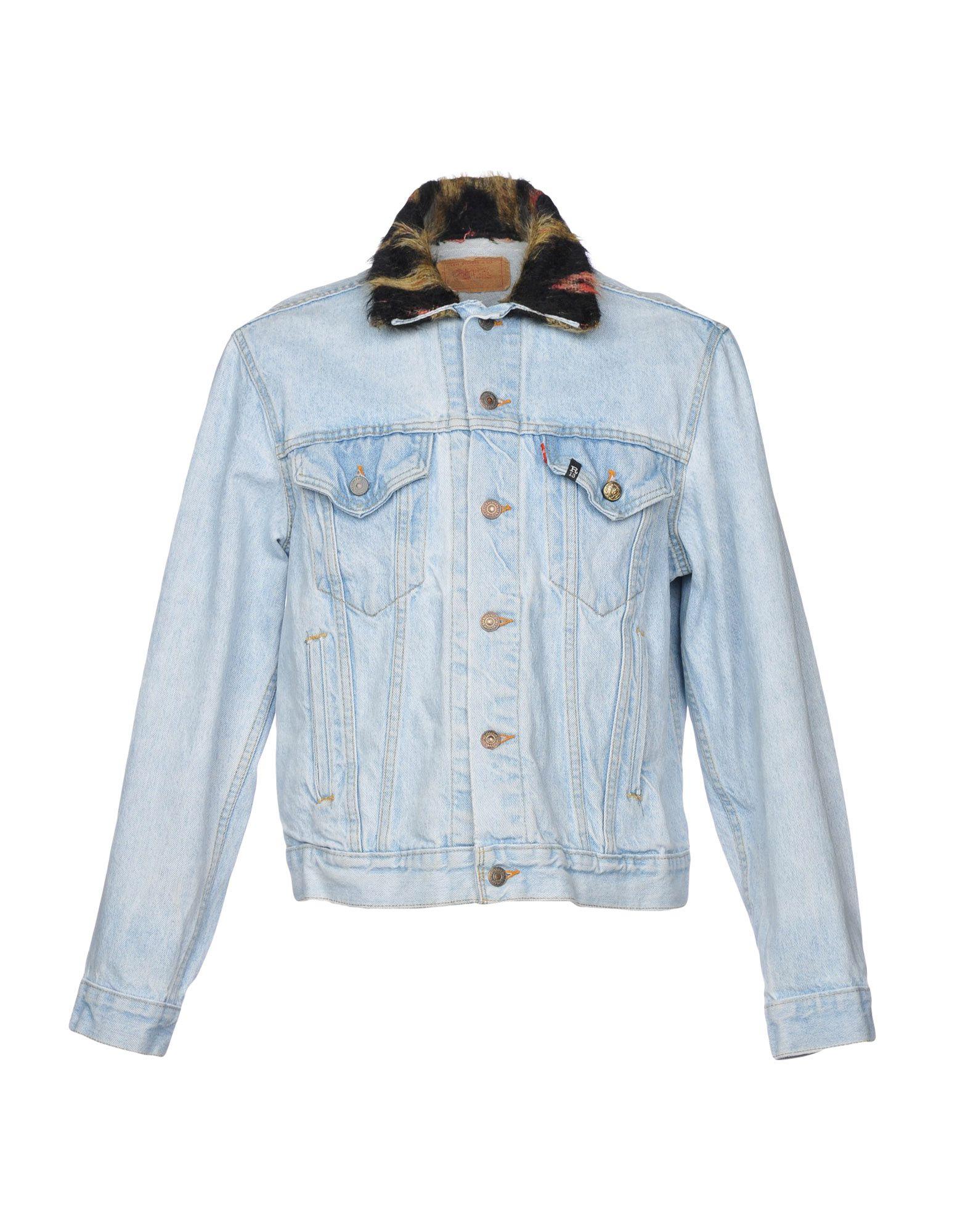 R13 with LEVI'S Джинсовая верхняя одежда зимняя резина r 13