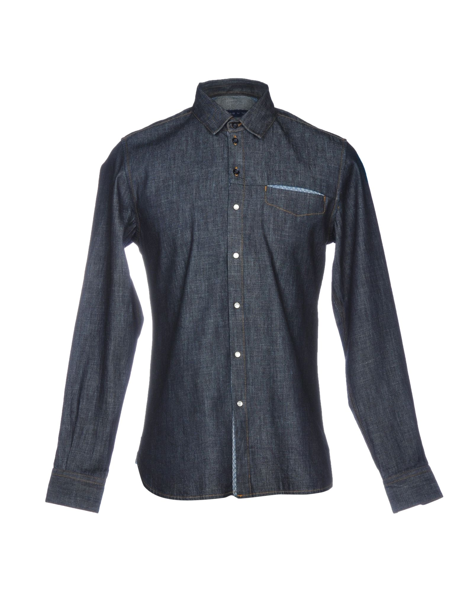ETRO Джинсовая рубашка рубашка etro цвет коричневый молочный синий