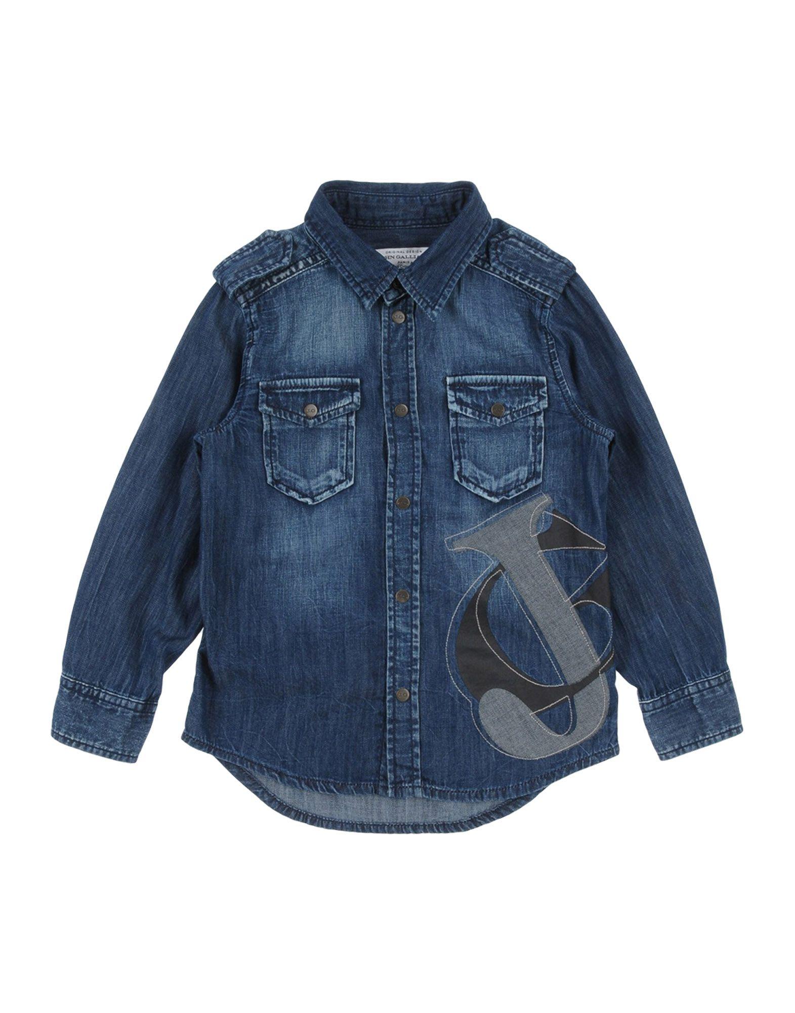 JOHN GALLIANO KIDS Джинсовая рубашка