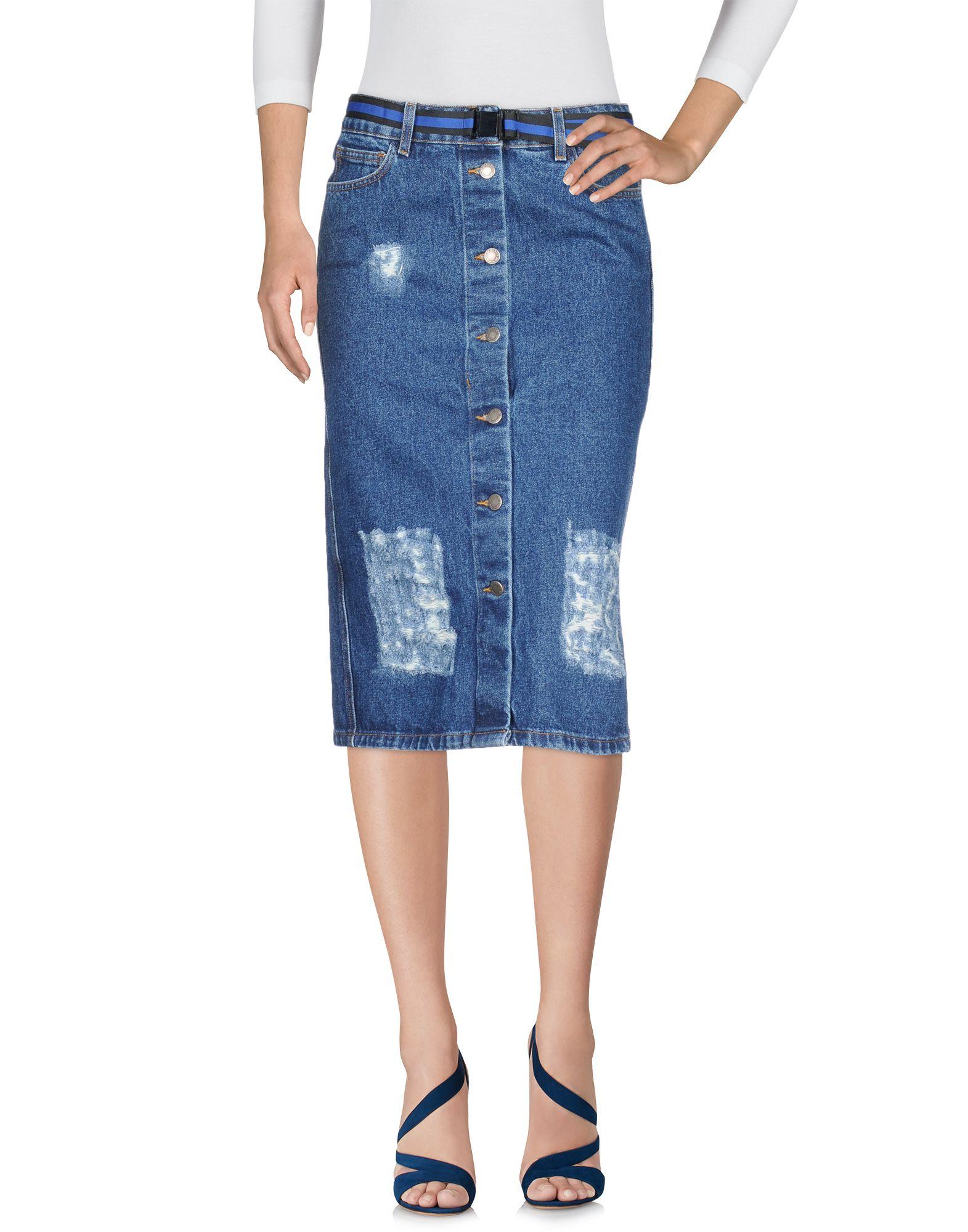 где купить NEVERSAME Джинсовая юбка по лучшей цене