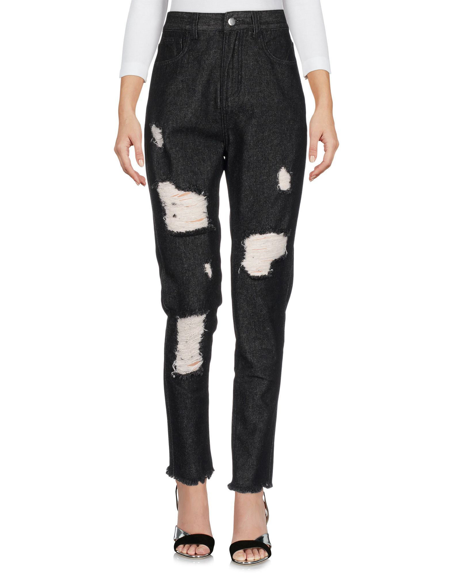 TPN Denim Pants in Black