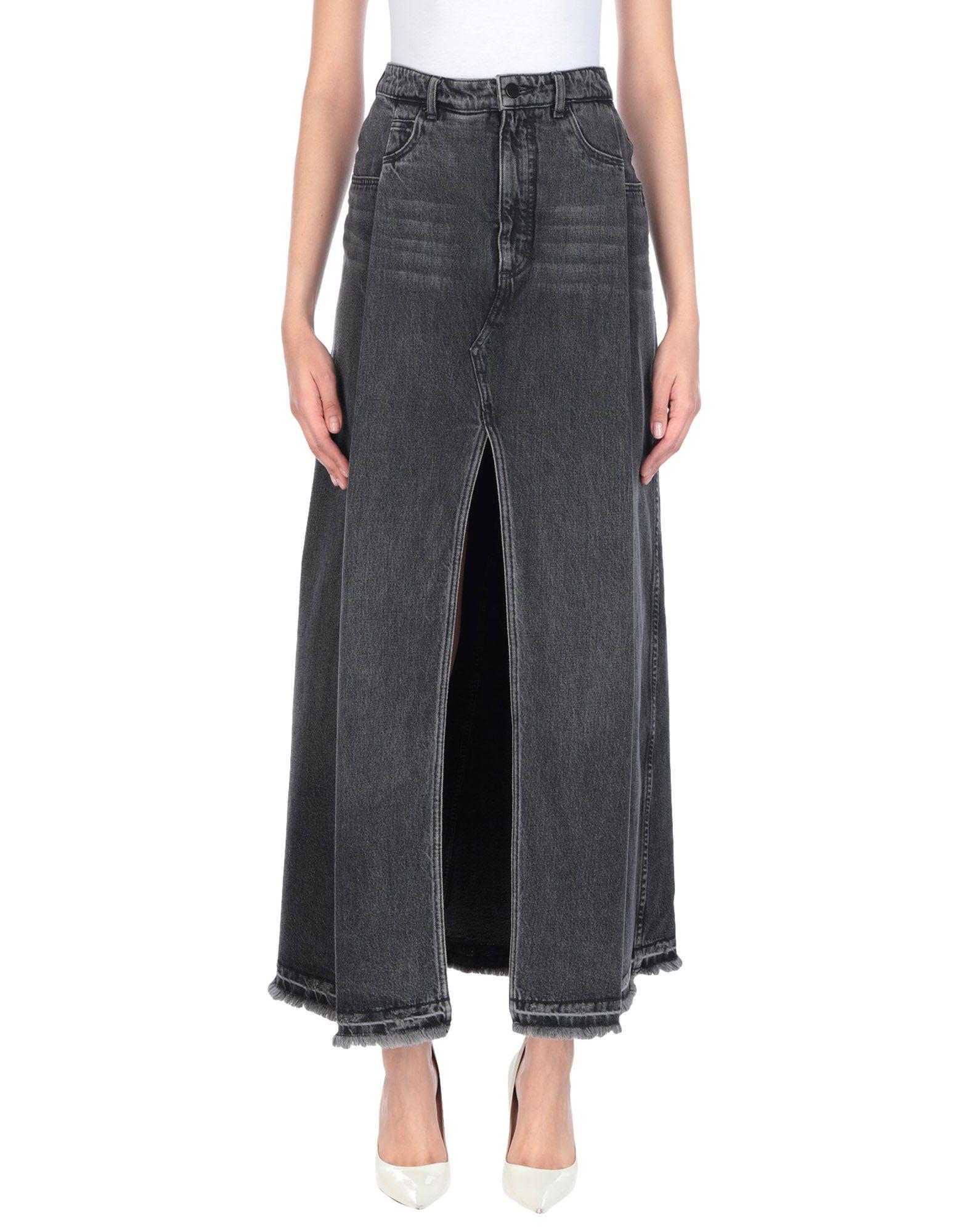 ALEXANDER WANG Джинсовая юбка t by alexander wang джинсовая рубашка