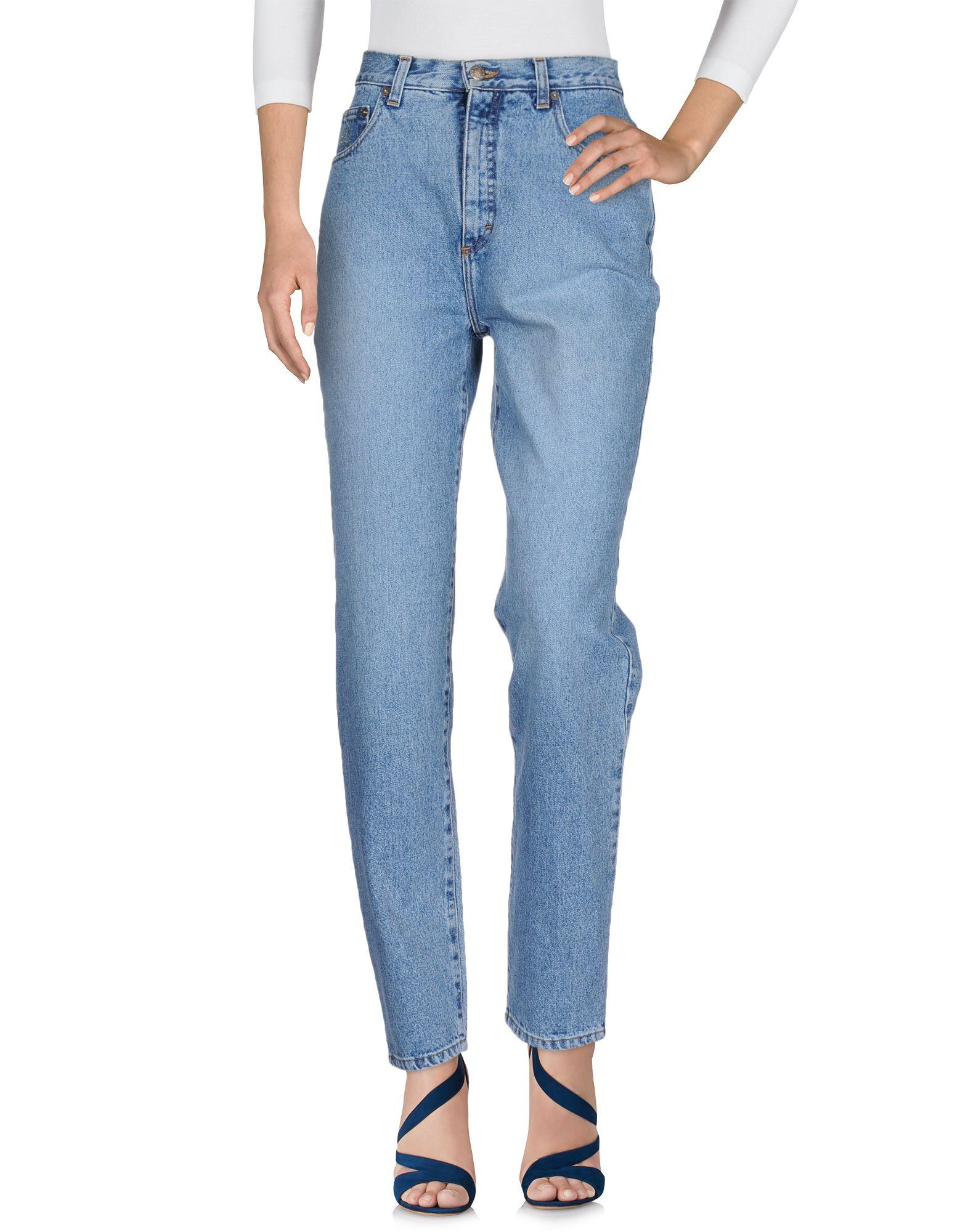 BLUMARINE JEANS Джинсовые брюки ripped jeans miss blumarine ripped jeans
