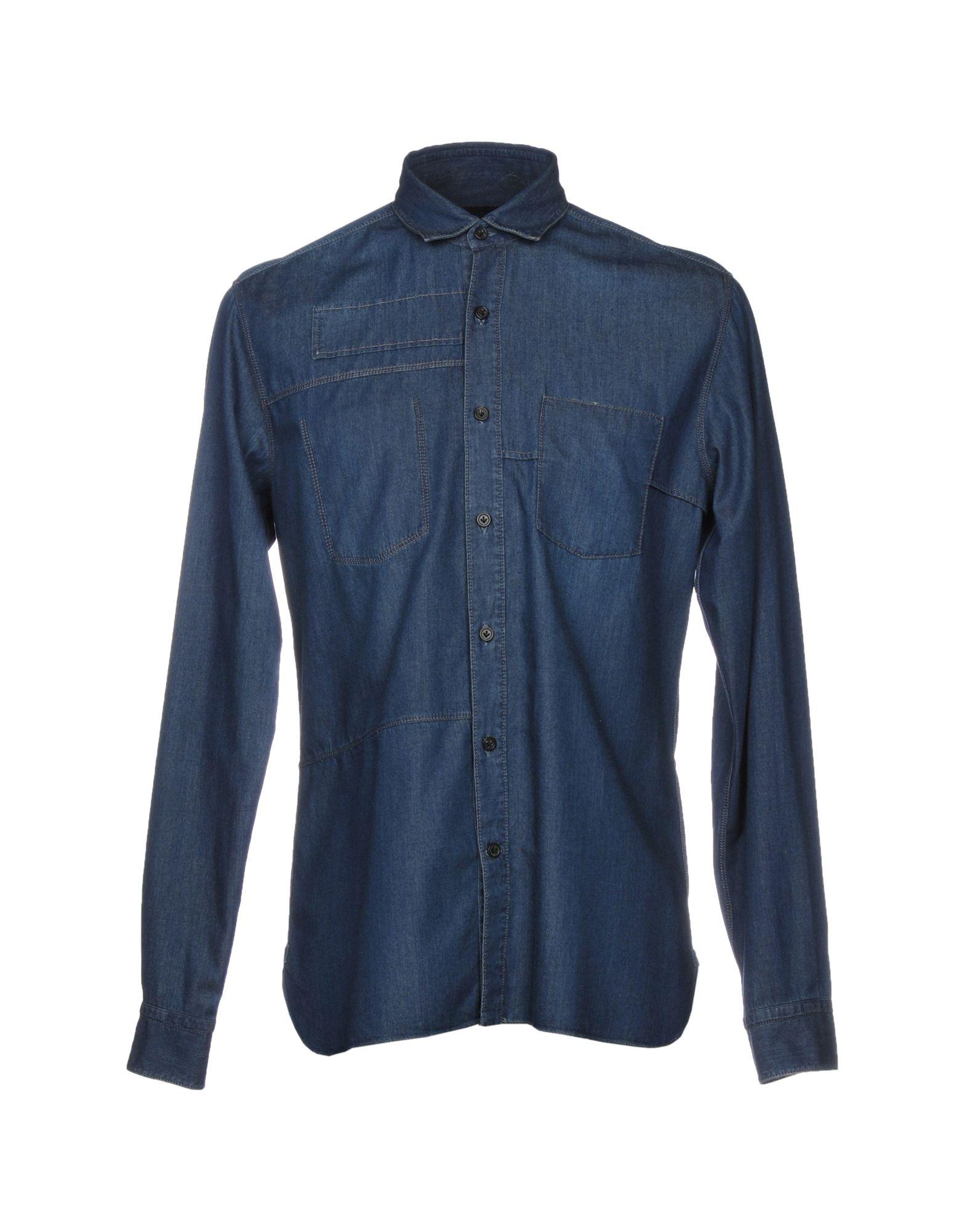 цена на LANVIN Джинсовая рубашка