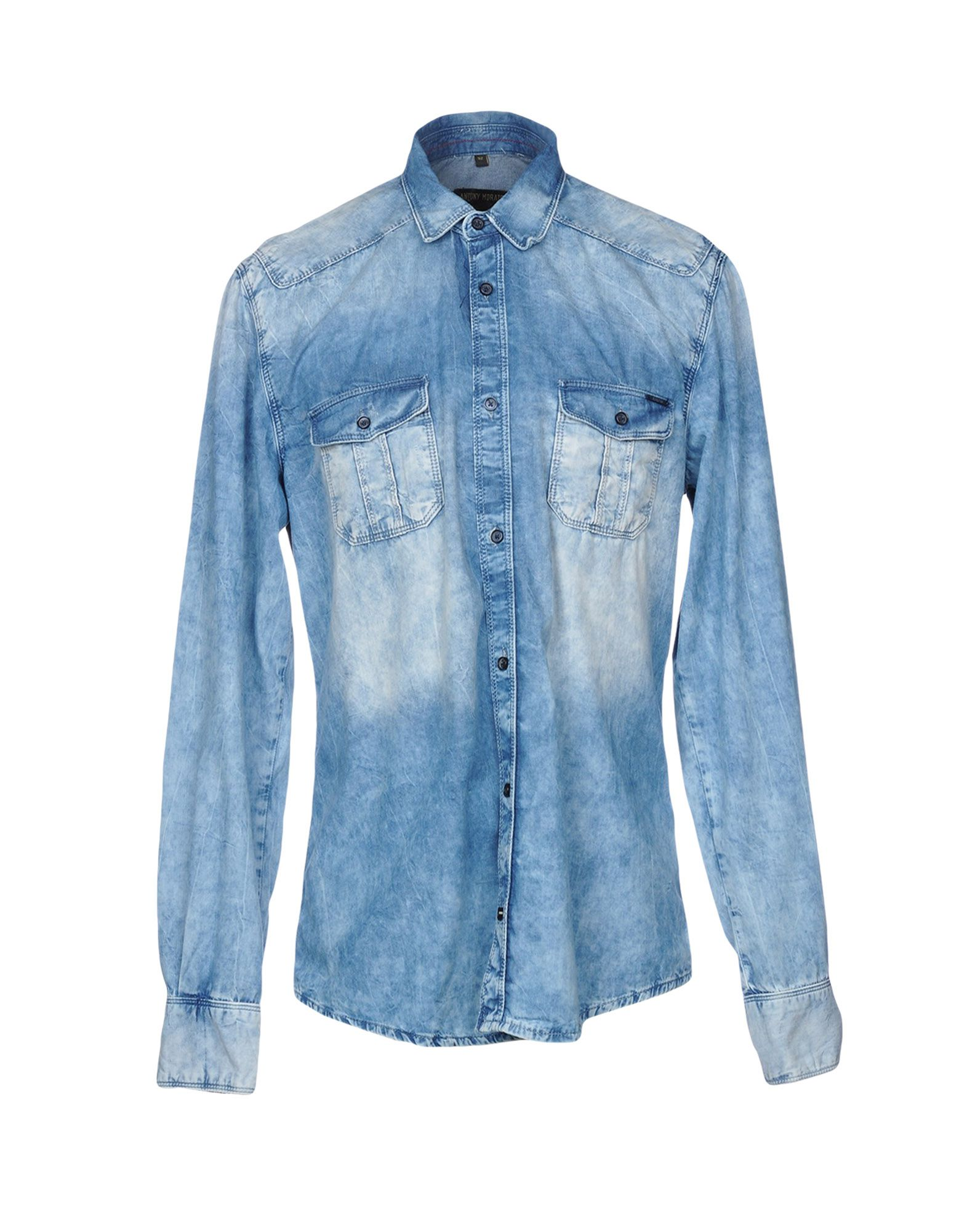 ANTONY MORATO Джинсовая рубашка antony morato джинсовая рубашка