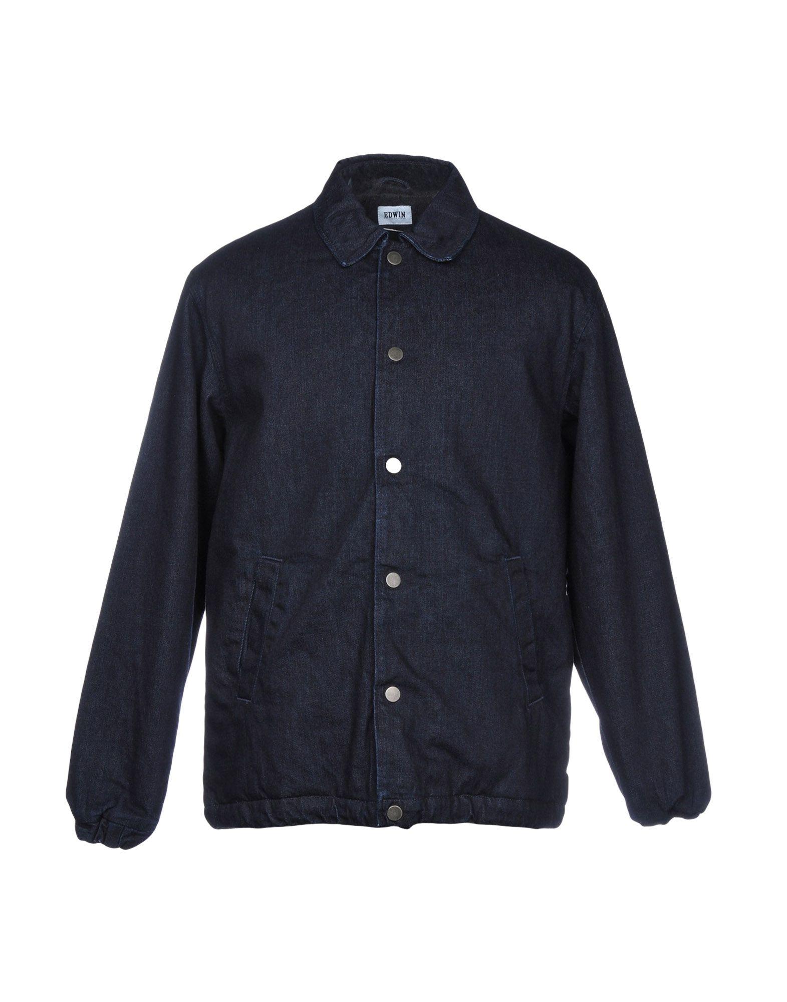 EDWIN Джинсовая верхняя одежда цена 2017