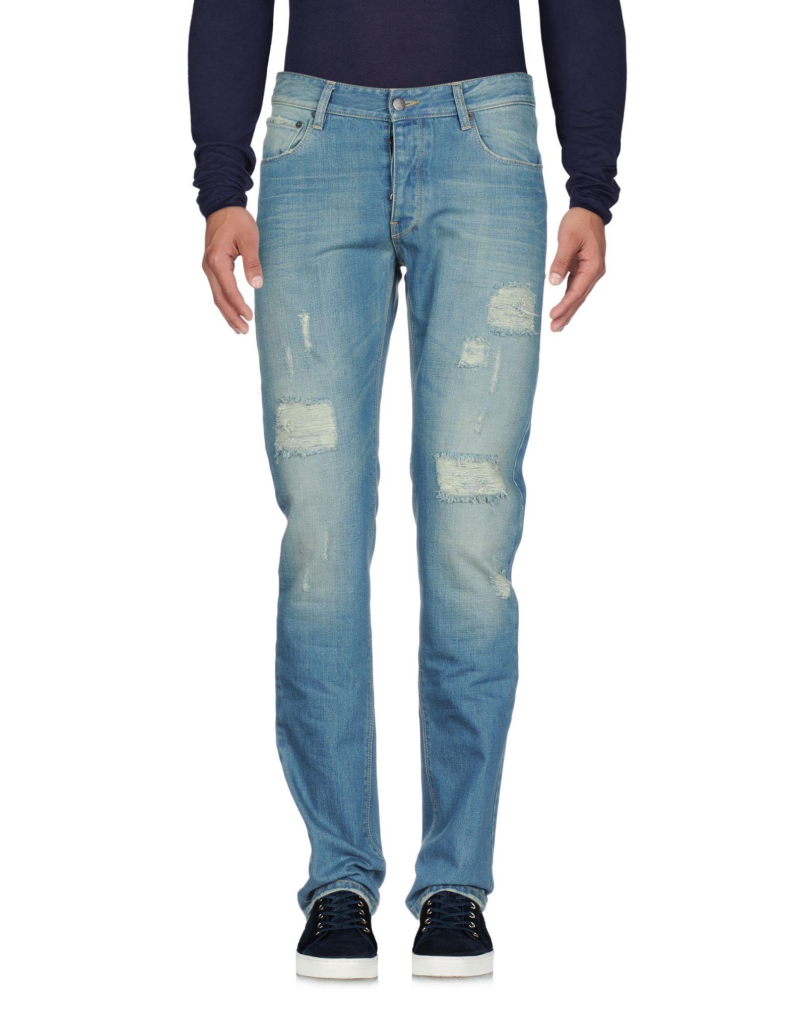 RAF BY RAF SIMONS Джинсовые брюки цены онлайн