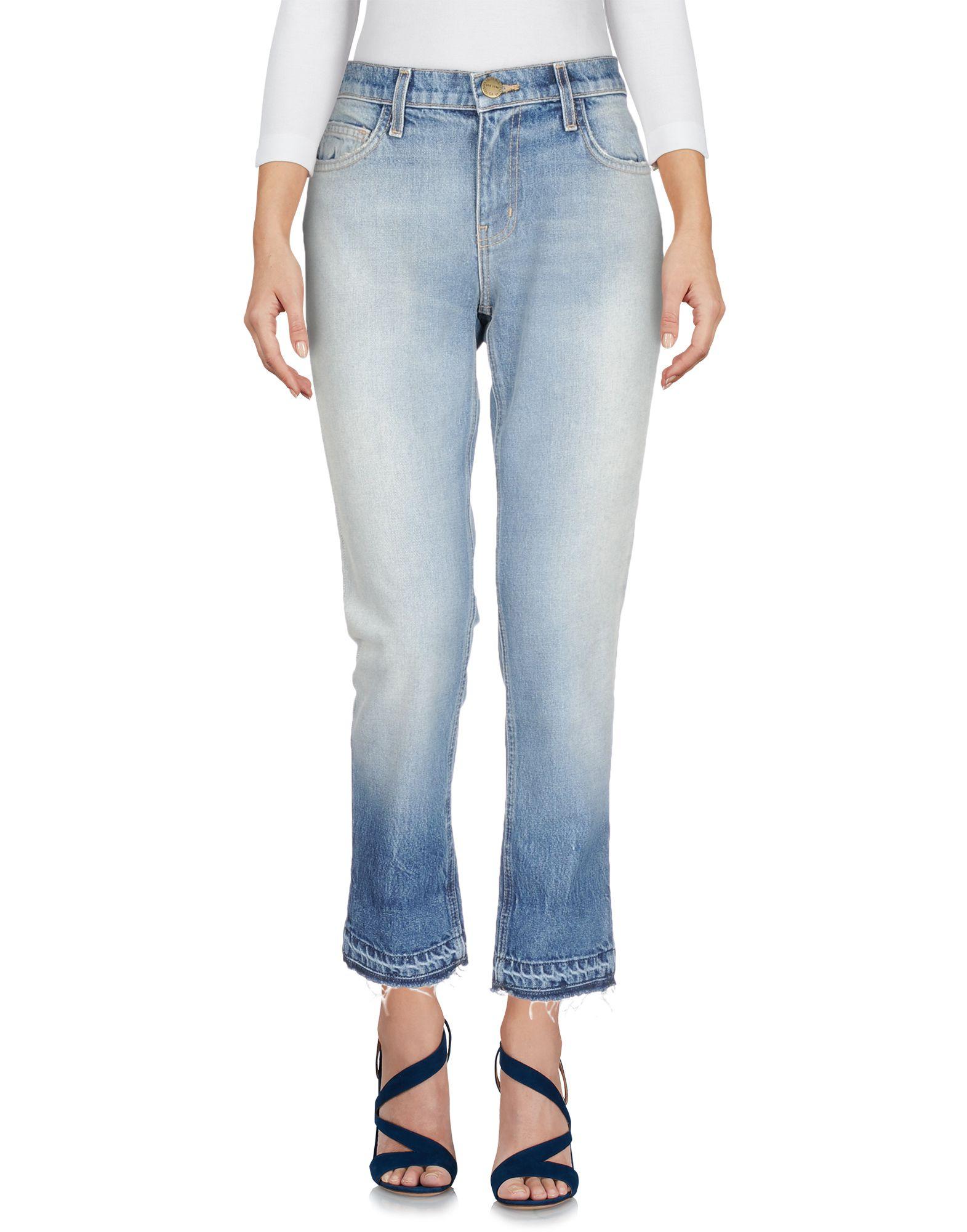 CURRENT/ELLIOTT Джинсовые брюки halter crisscross cropped bikini set