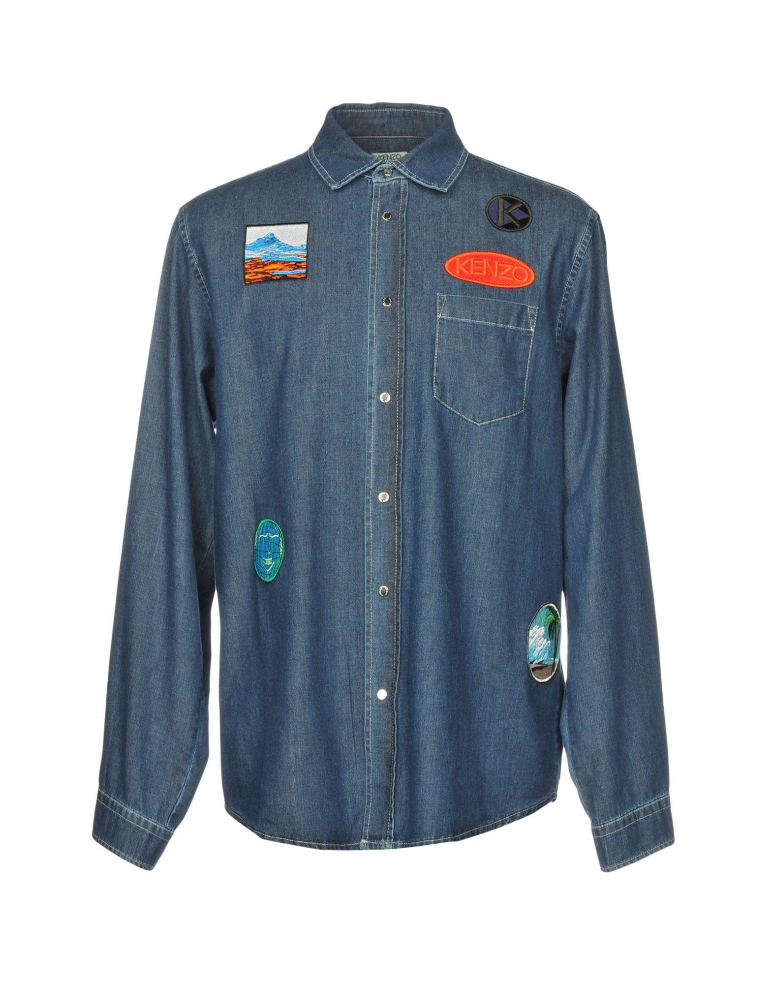 KENZO Джинсовая рубашка