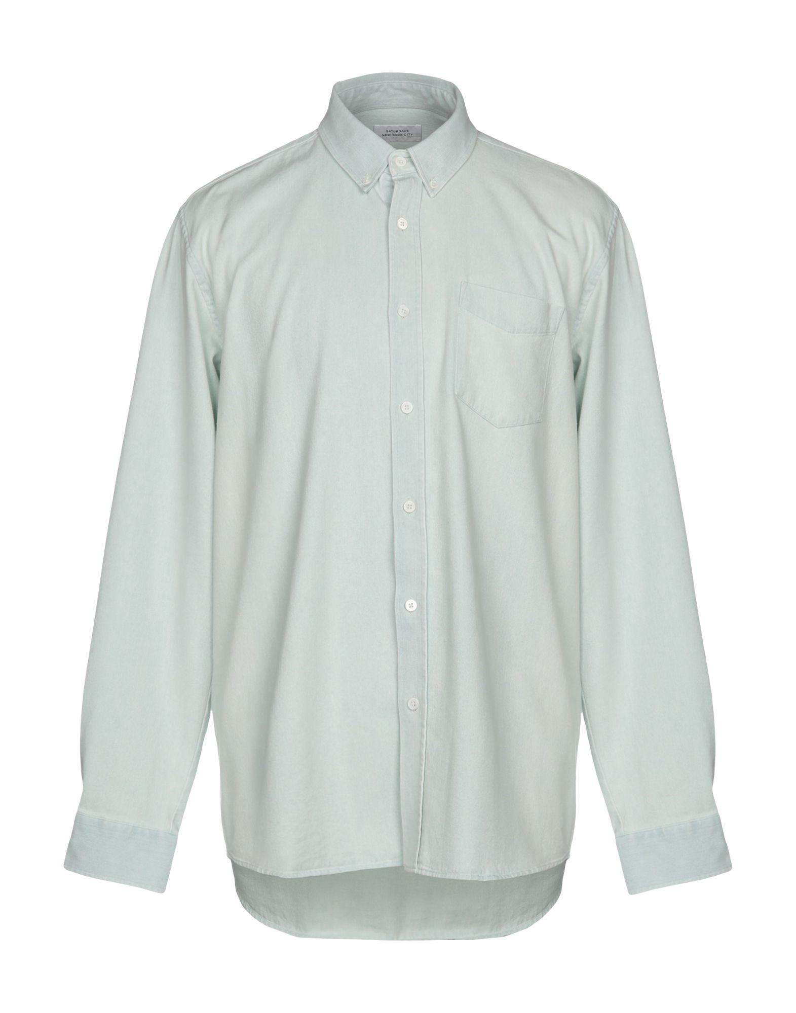 SATURDAYS NEW YORK CITY Джинсовая рубашка