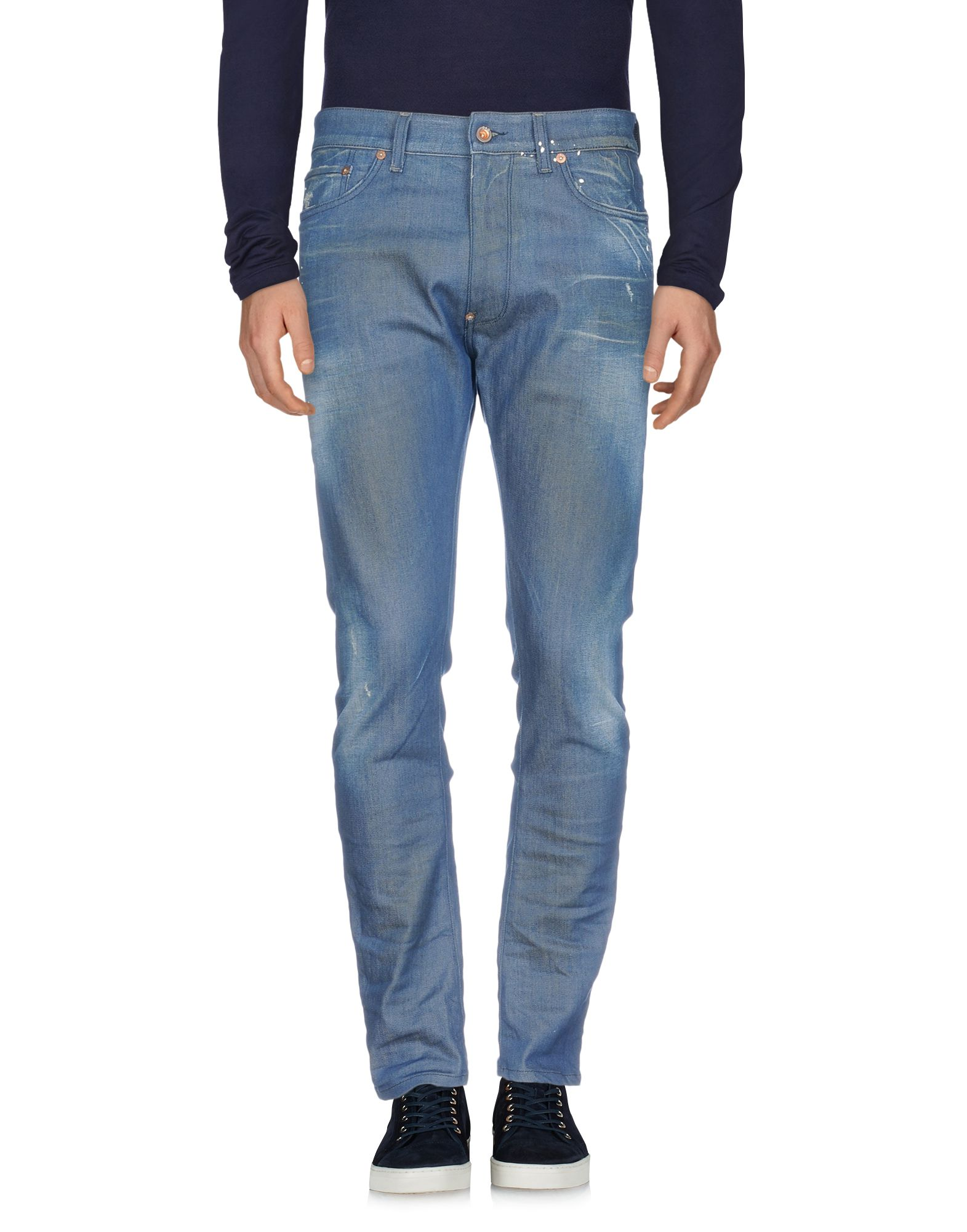 D.A.D. DENIM ART DEPT. Джинсовые брюки цена 2017