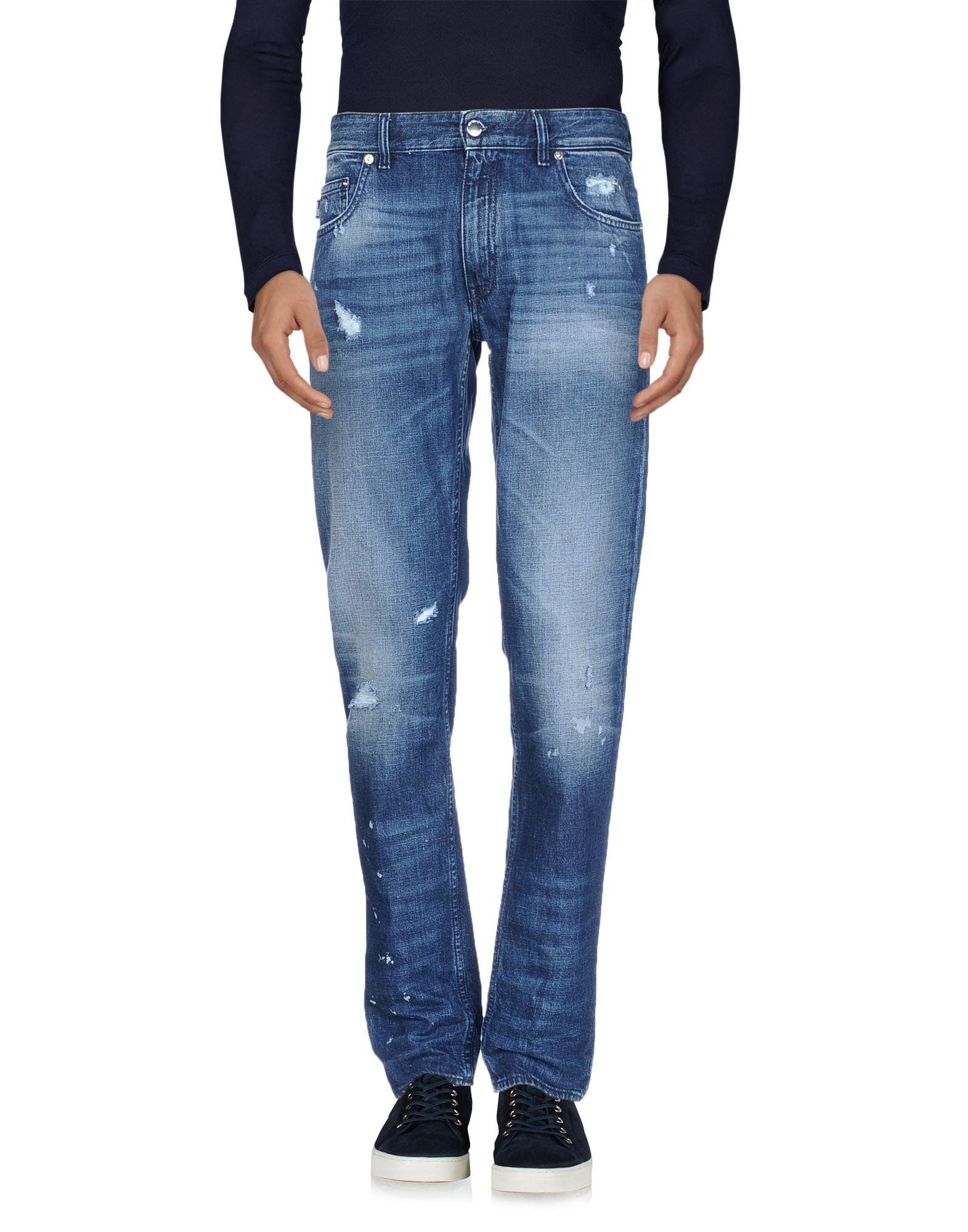 《セール開催中》LOVE MOSCHINO メンズ ジーンズ ブルー 32 コットン 100%