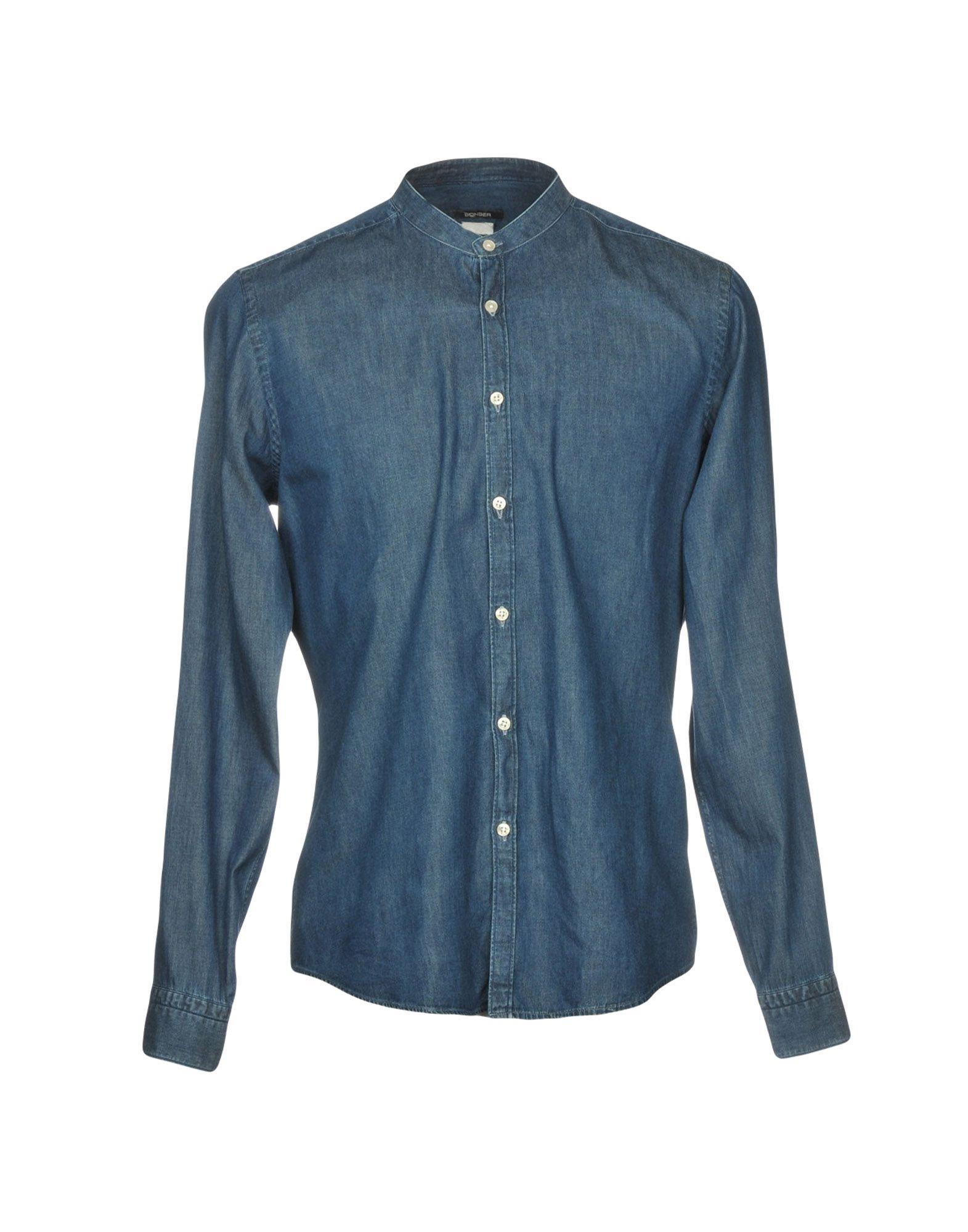 где купить BONSER Джинсовая рубашка по лучшей цене
