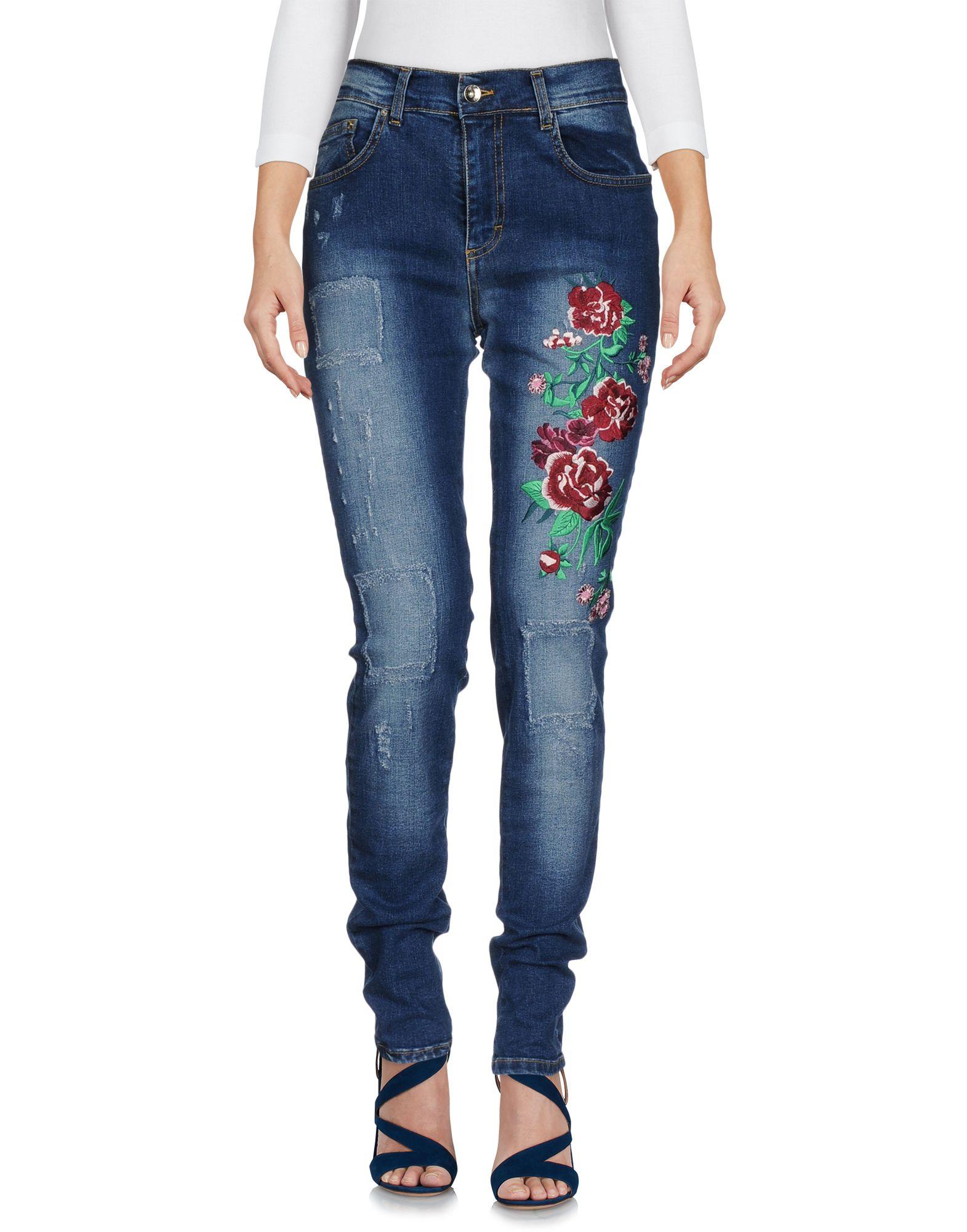 GRETHA Milano Джинсовые брюки