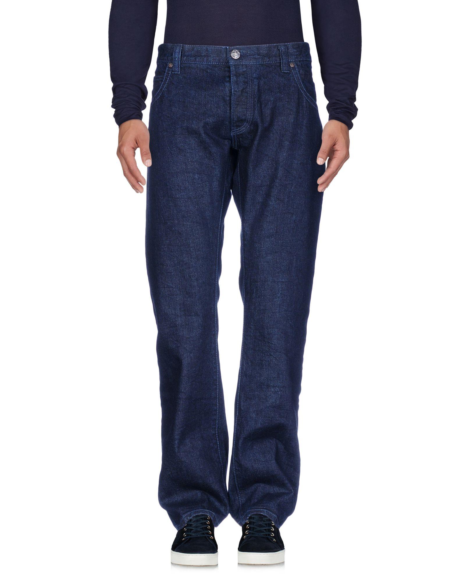 《送料無料》ARMANI JEANS メンズ ジーンズ ブルー 30 コットン 100%