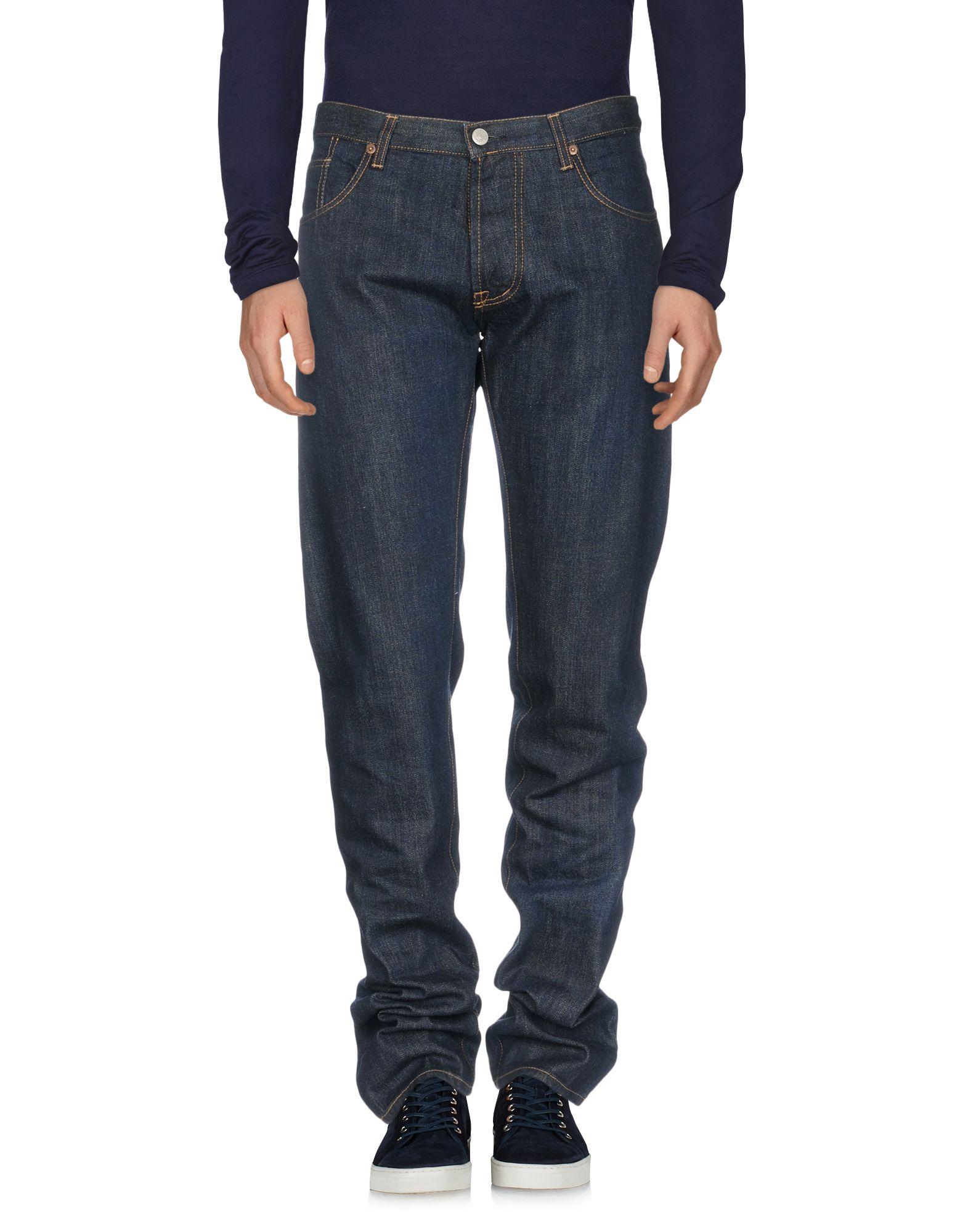 RICHARD JAMES Джинсовые брюки james goldstein повседневные брюки