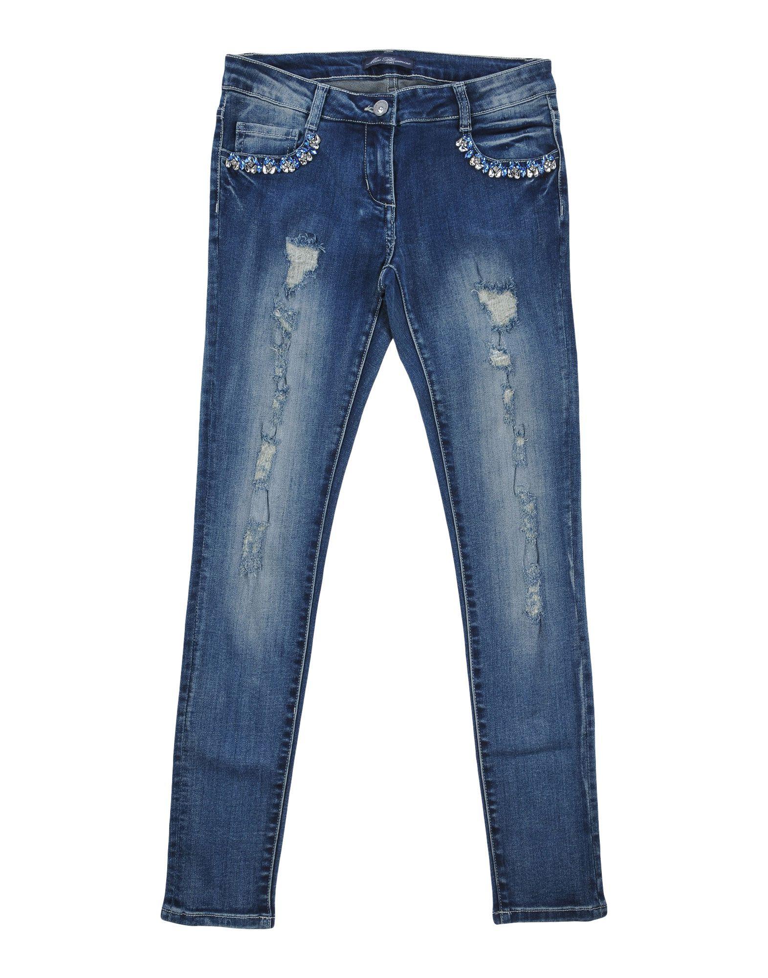 MISS BLUMARINE Джинсовые брюки