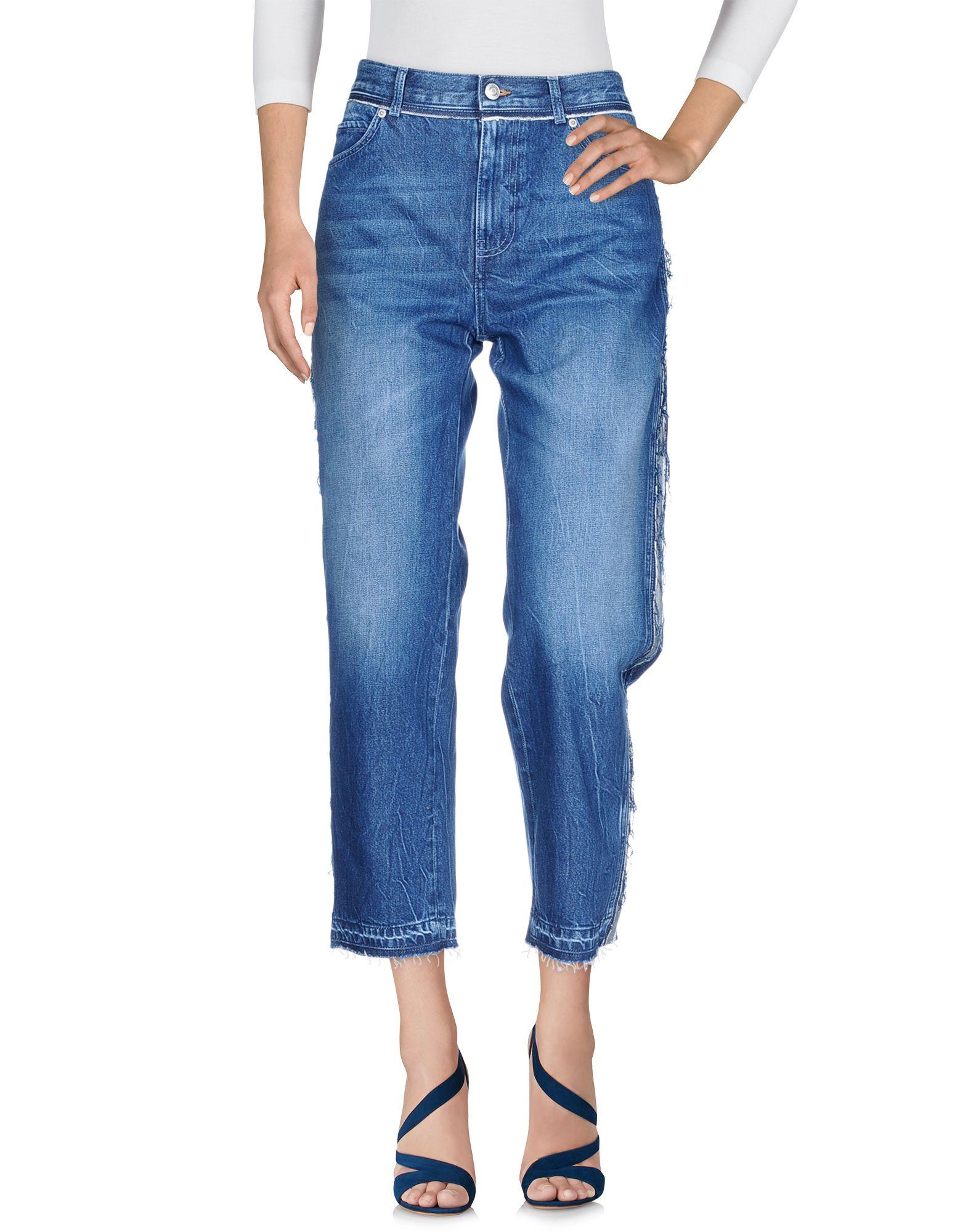 ALEXANDER MCQUEEN Denim pants - Item 42680059